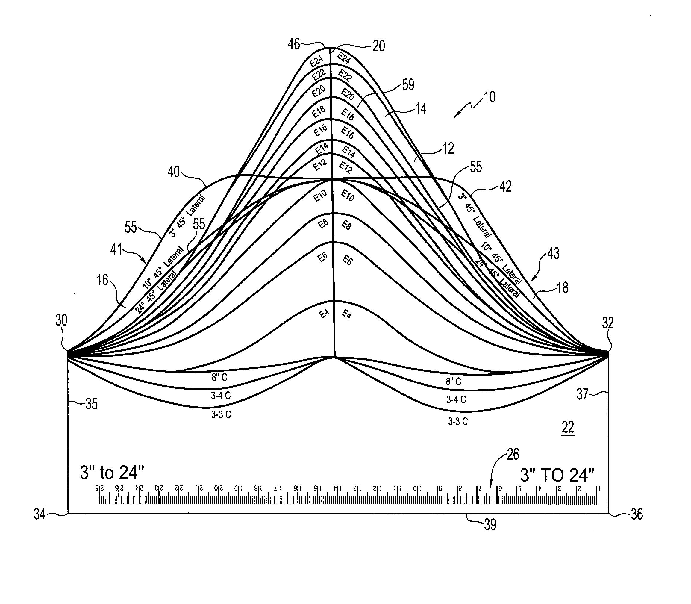 printable 45 degree angle pipe 45 degree angle template