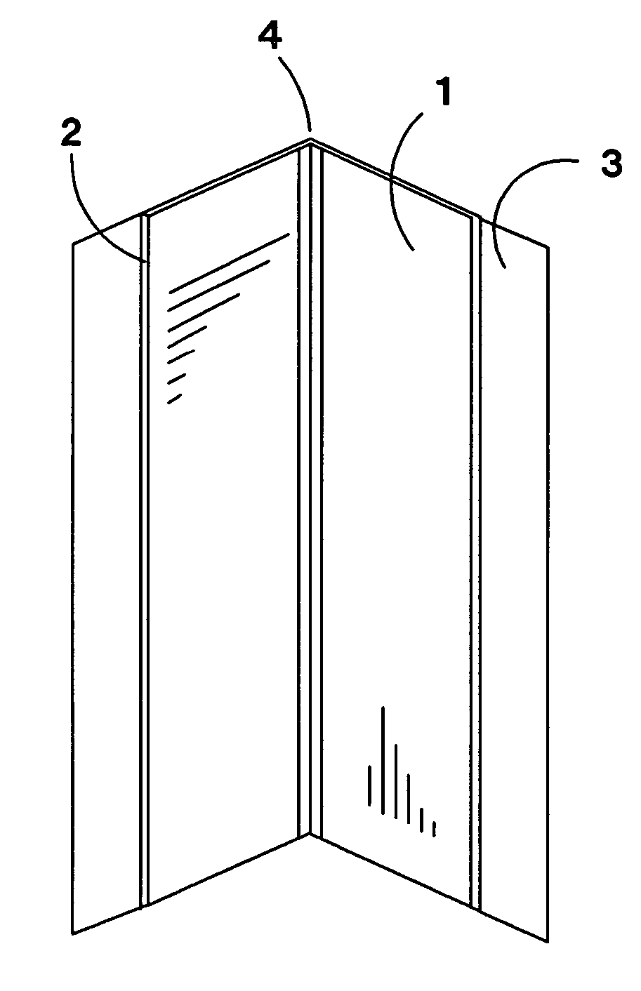 Multi Drywall Layers : Patent us  multi angle exterior drywall corner