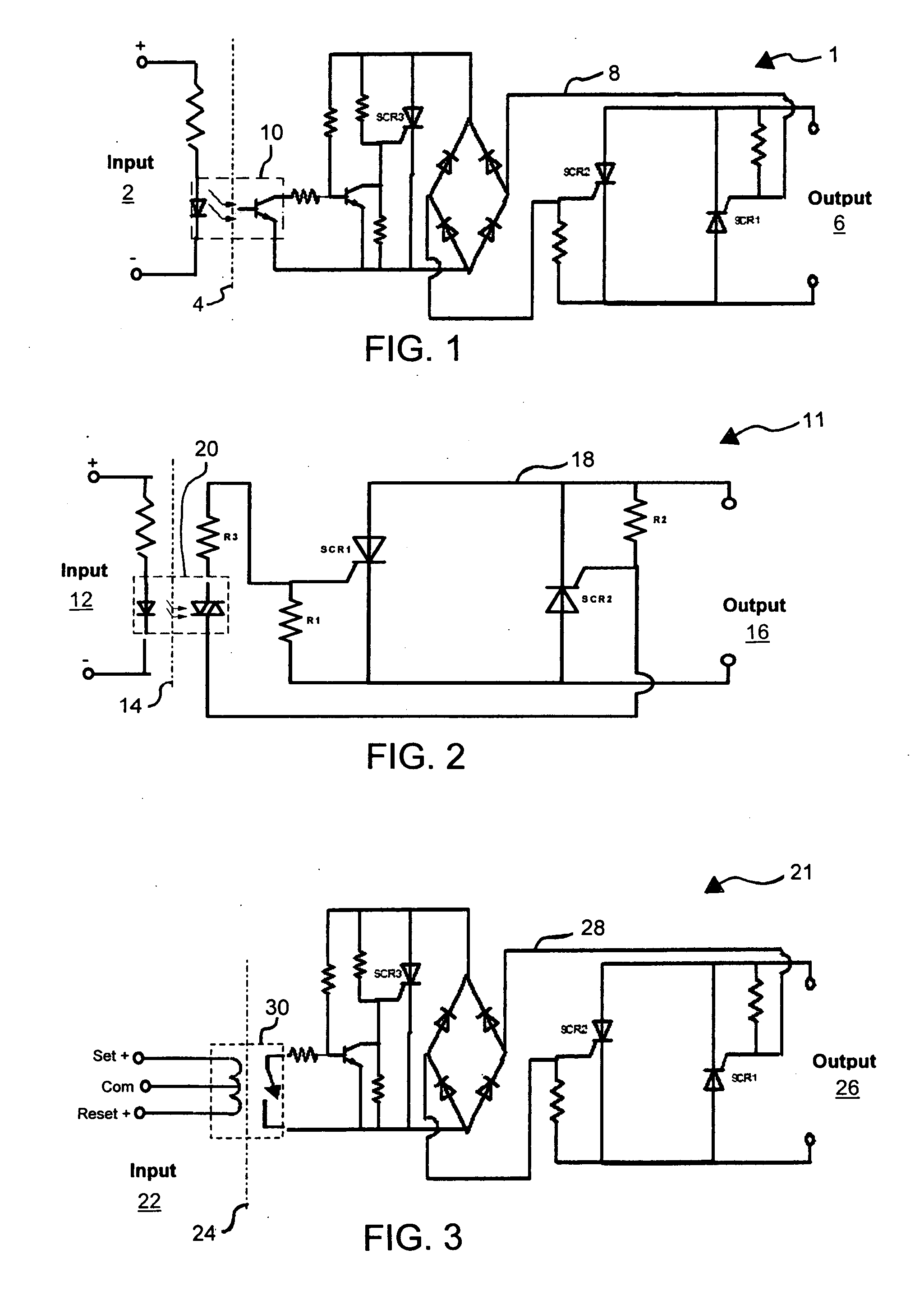 Brevet Us20060245129 Latching Solid State Relay Google Brevets 12 Volt Wiring Diagram 5 Pole On 30 Also Patent Drawing