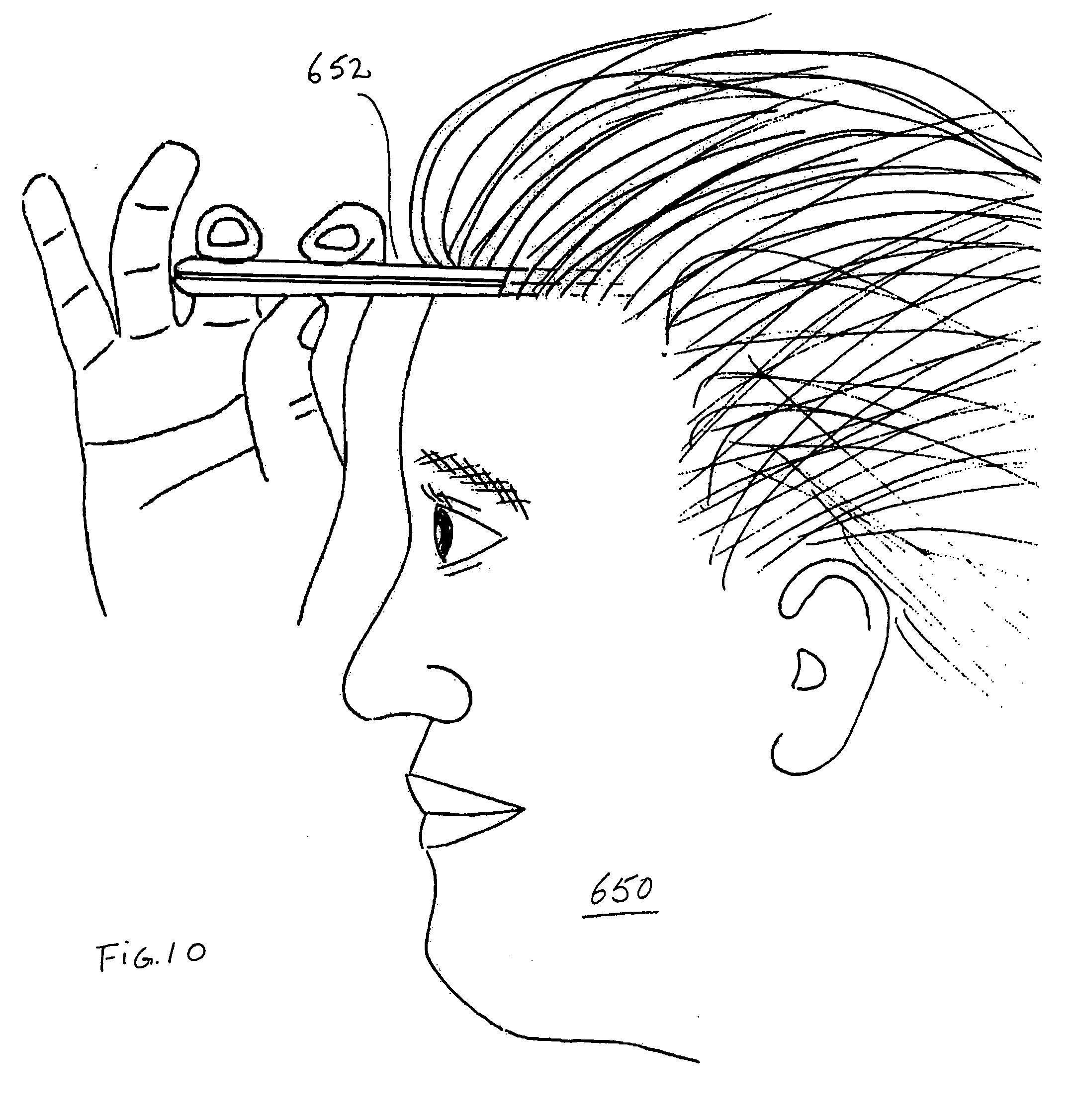 brevetto us20060248946 - moisture sensor for skin