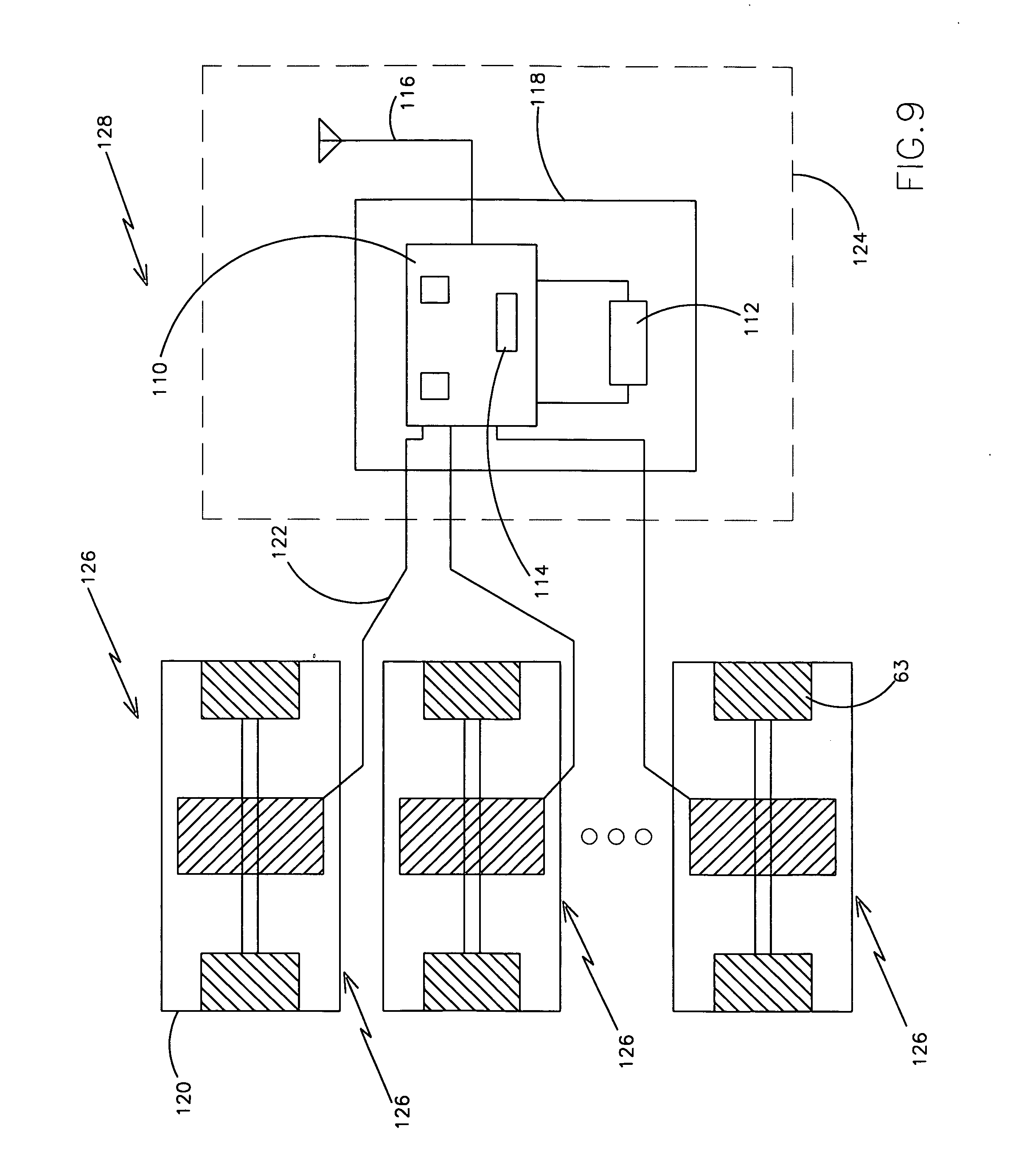Patent Us20060254365 Wireless Vibrating Strain Gauge For Smart Detector Circuit Vibration Impulse Counter Water Switch Sensor Drawing