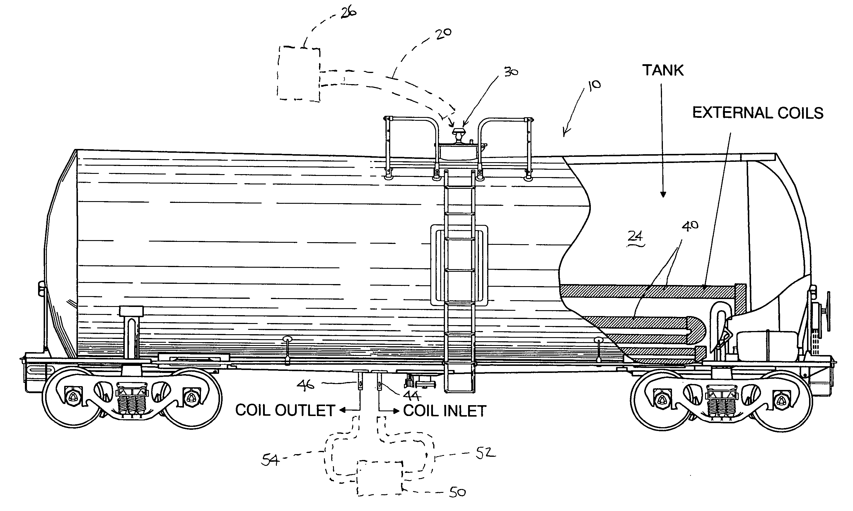 patent us20060254620 - process for cleaning asphalt tank cars