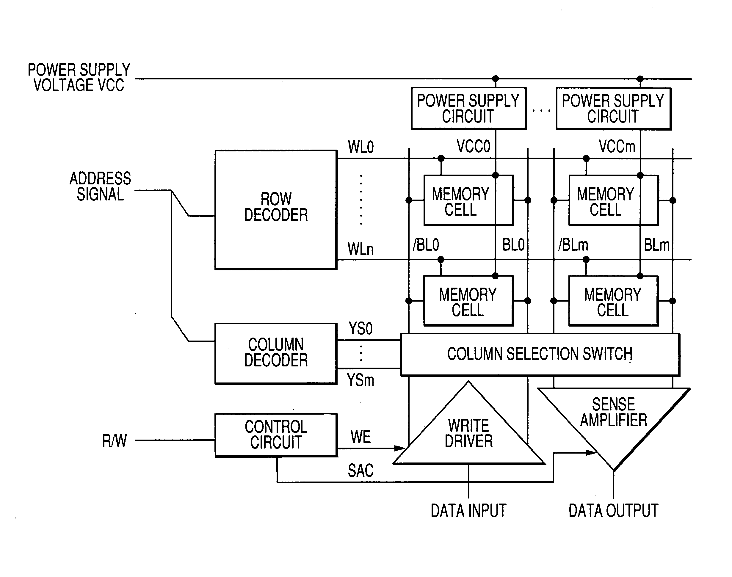 Patent Us20060274572 Semiconductor Integrated Circuit Device Power Control Powersupplycircuit Drawing