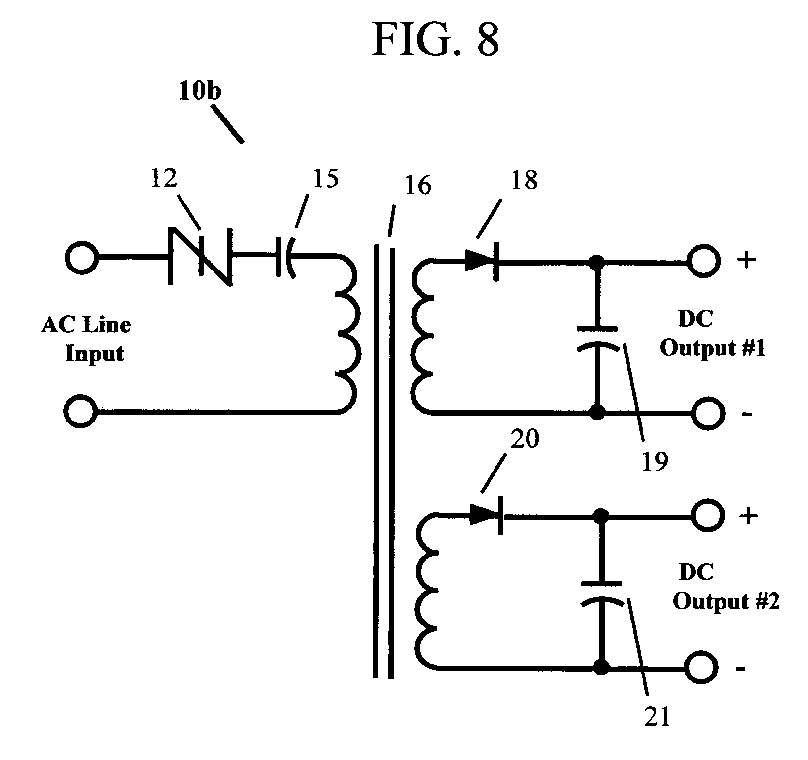 Patent Us20060279974 Ac Line Isolated Dc High Frequency Low Power Other Circuits Gt Switch Triac Zero Voltage Switching Drawing