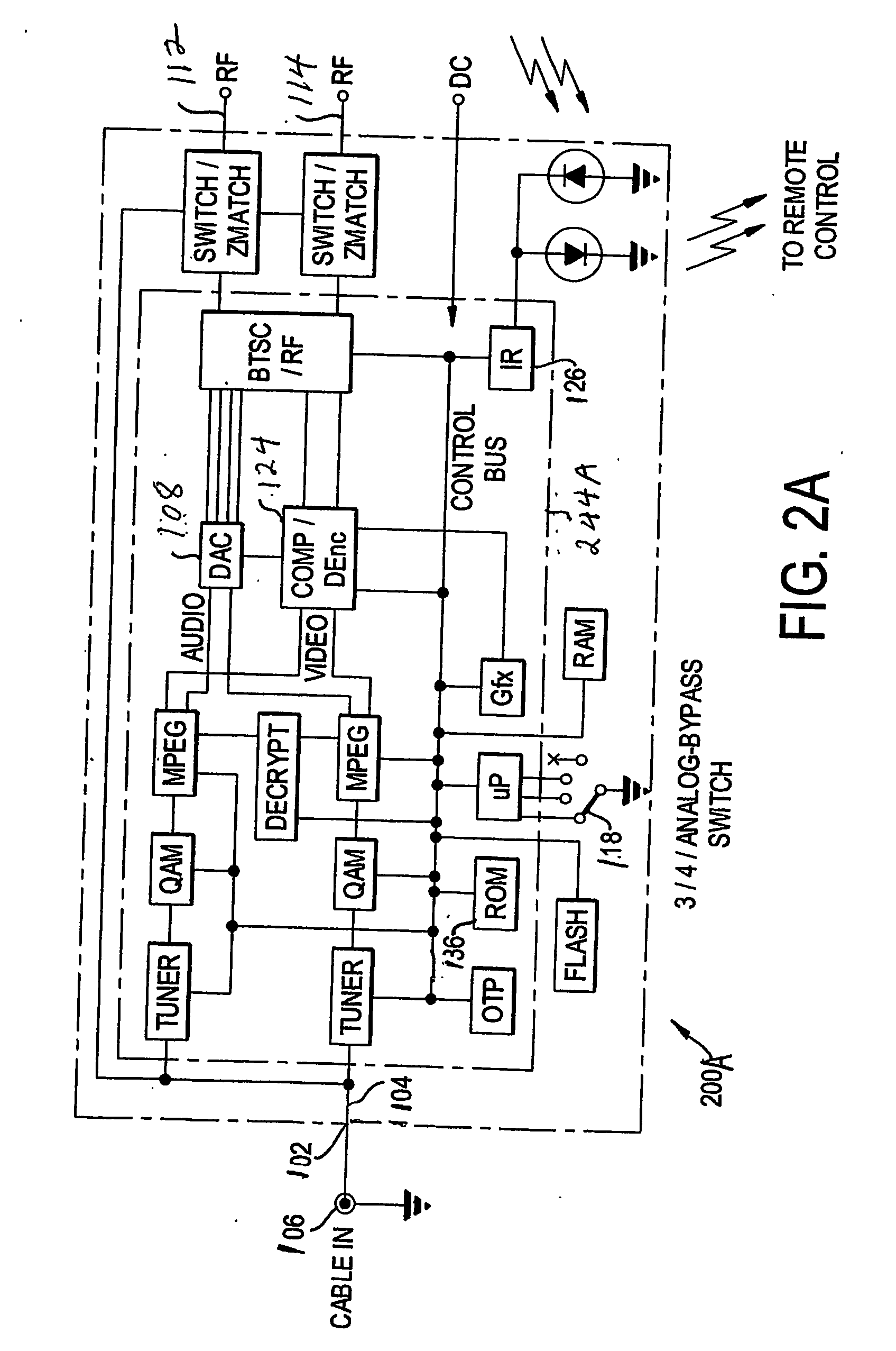Patent Us20060282875 Digital Cable Adapter Google Patents Pip And Vcr Wiring Diagram Drawing