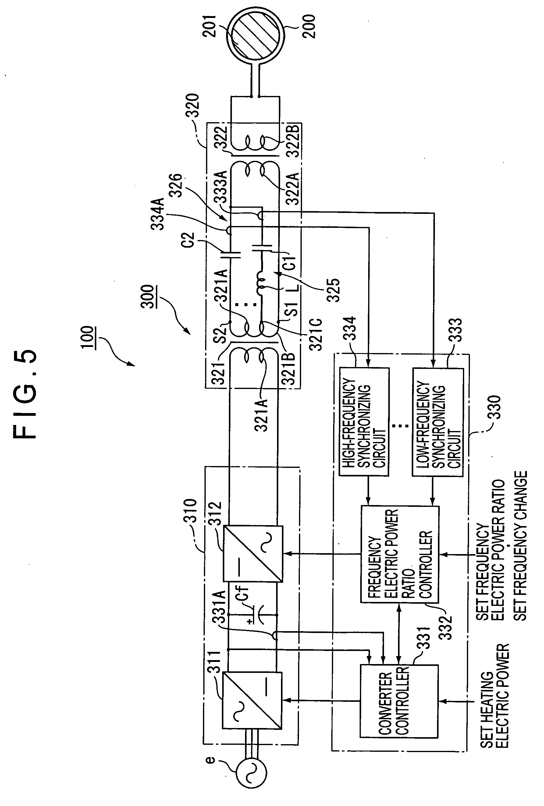 Patent Us20060290295 Electric Power Supply Apparatus And Induction Controller Circuit Drawing