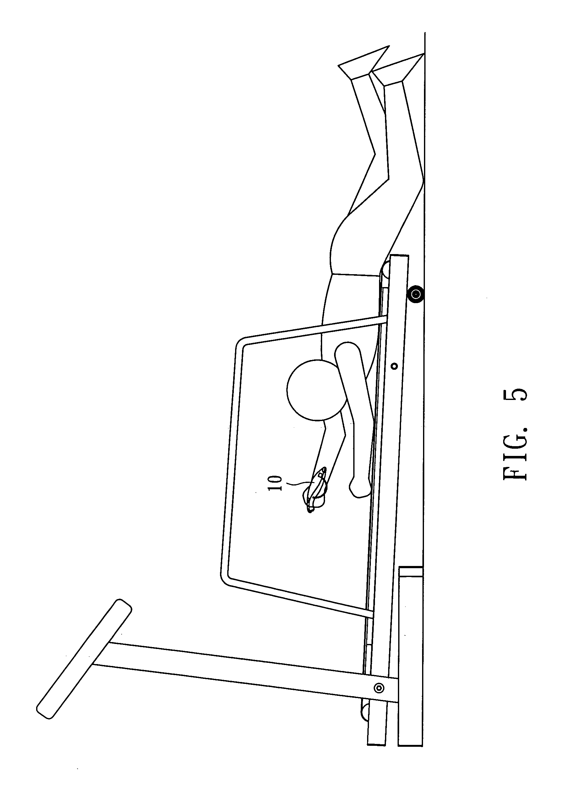 Brevet Us20070004562 Remote Control Of Treadmill Google Brevets Opel Vectra B Circuit Diagram Patent Drawing