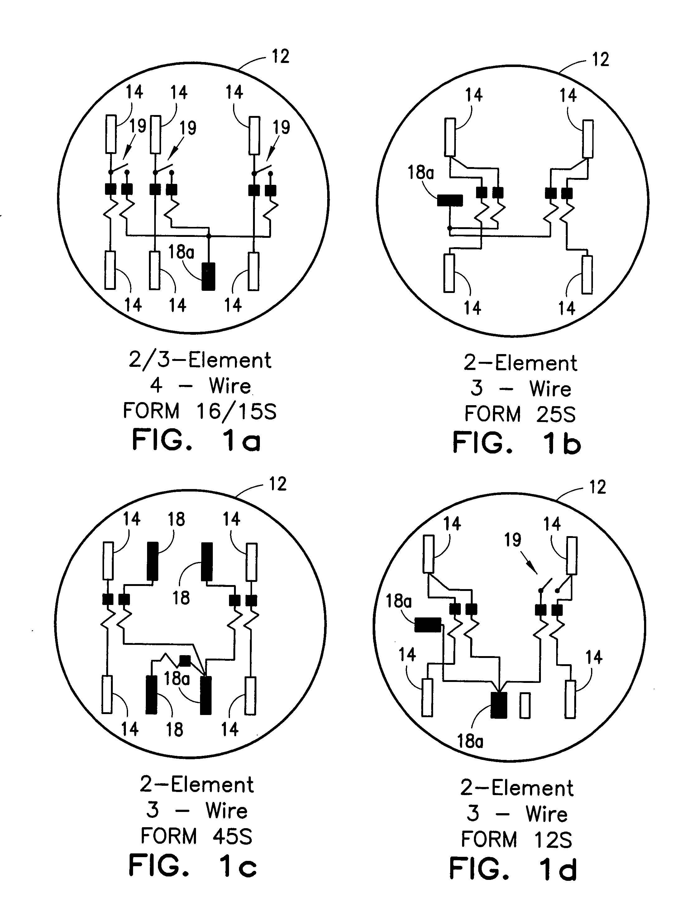 US20070007944A1 20070111 D00001 patent us20070007944 configurable utility meter connection 12s meter wiring diagram at gsmportal.co