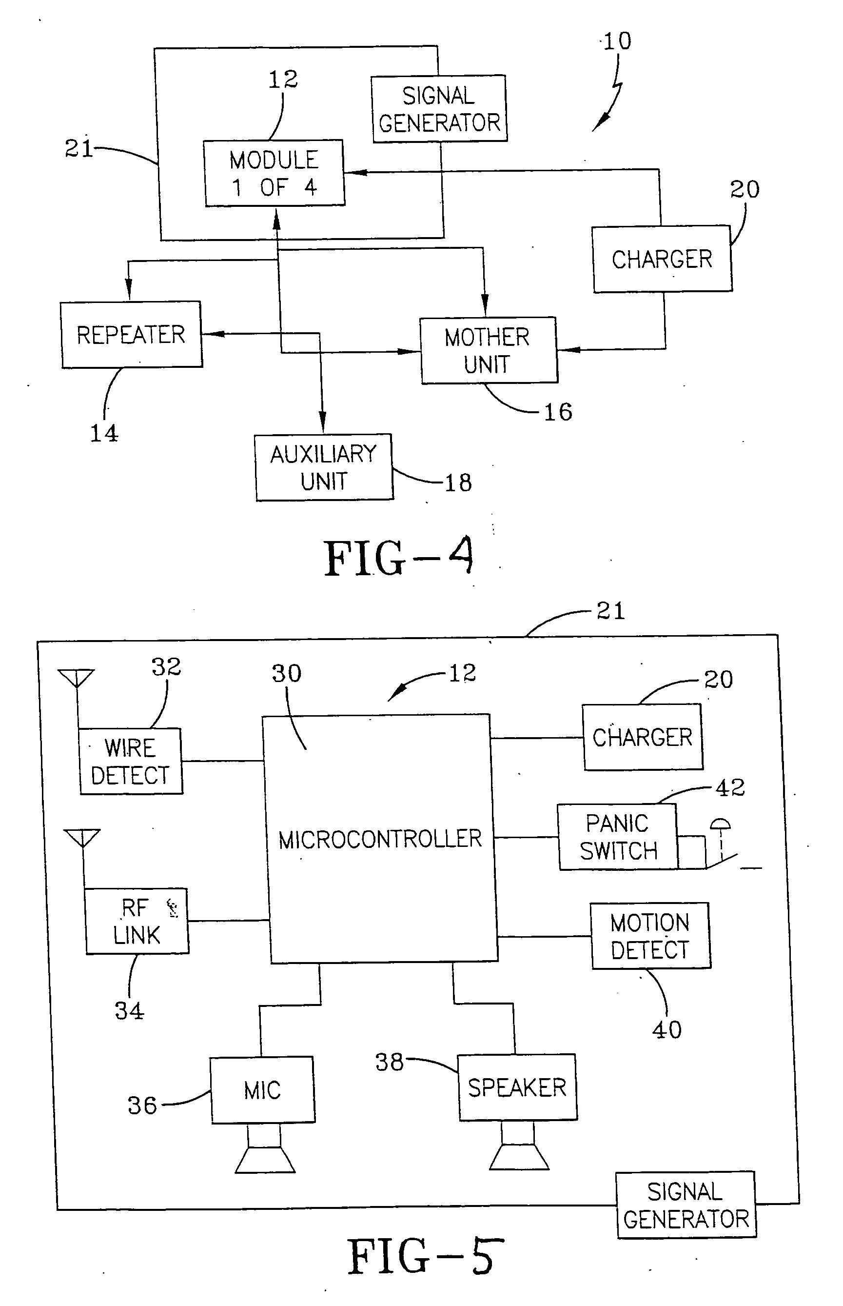 Patent Us20070013526 Locator System Google Patents Minimumcomponent Audio Amplifier Circuit Diagram Tradeoficcom Drawing