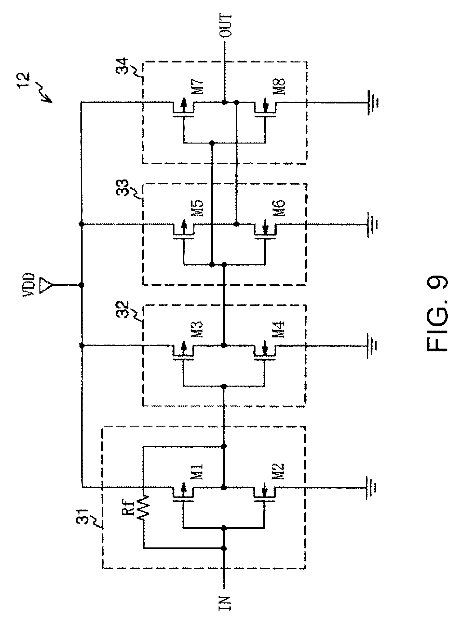 Patent Us20070024386 Crystal Oscillator Google Patents Circuit Diagram Composed Of Inverter Drawing
