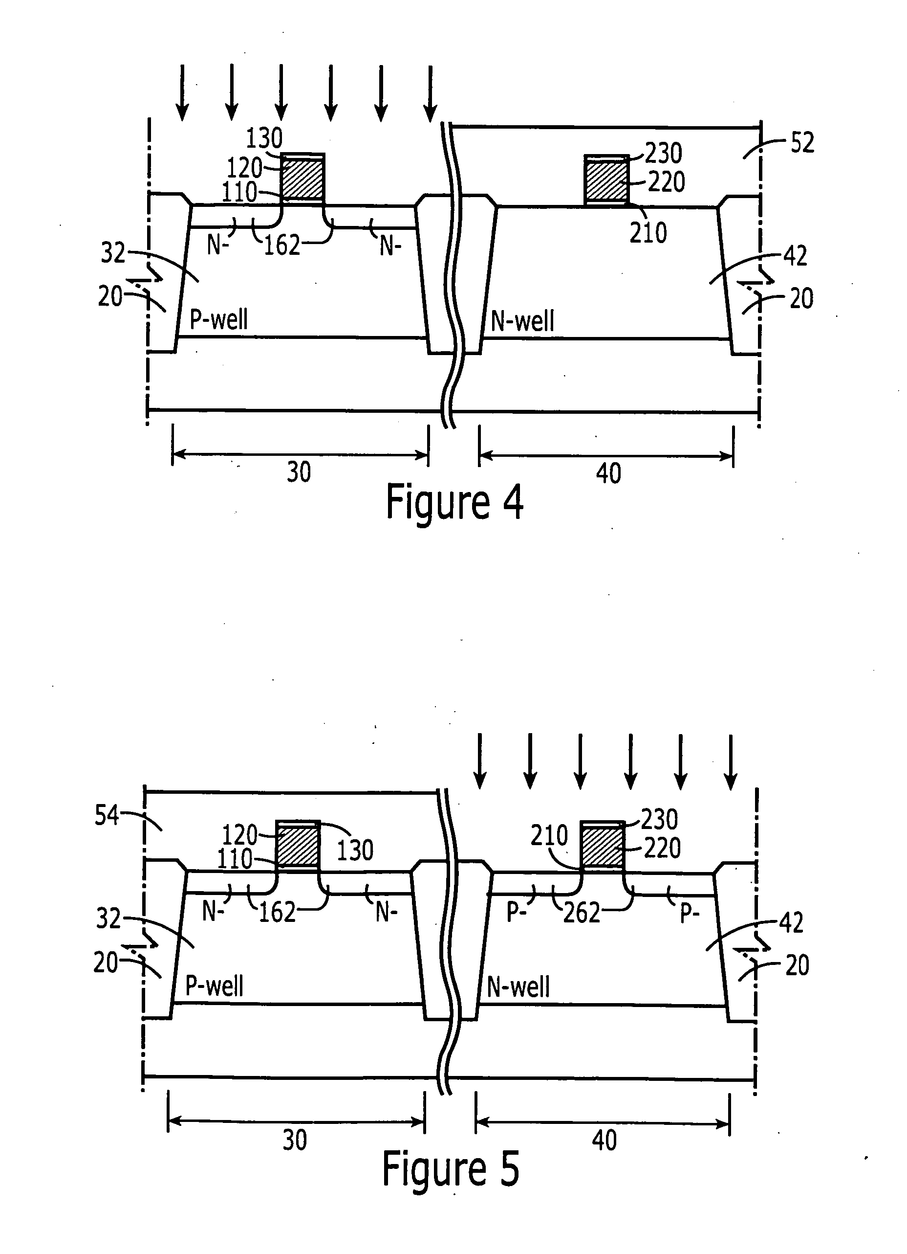 methods of forming nmos/pmos transistors with source/drains