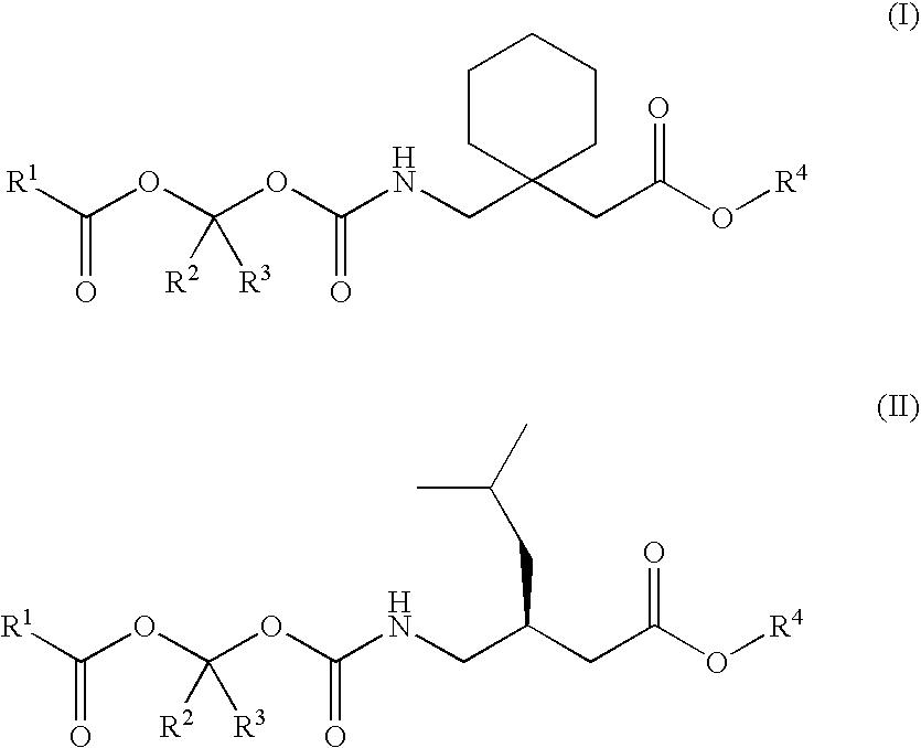 pregabalin vs gabapentin structure