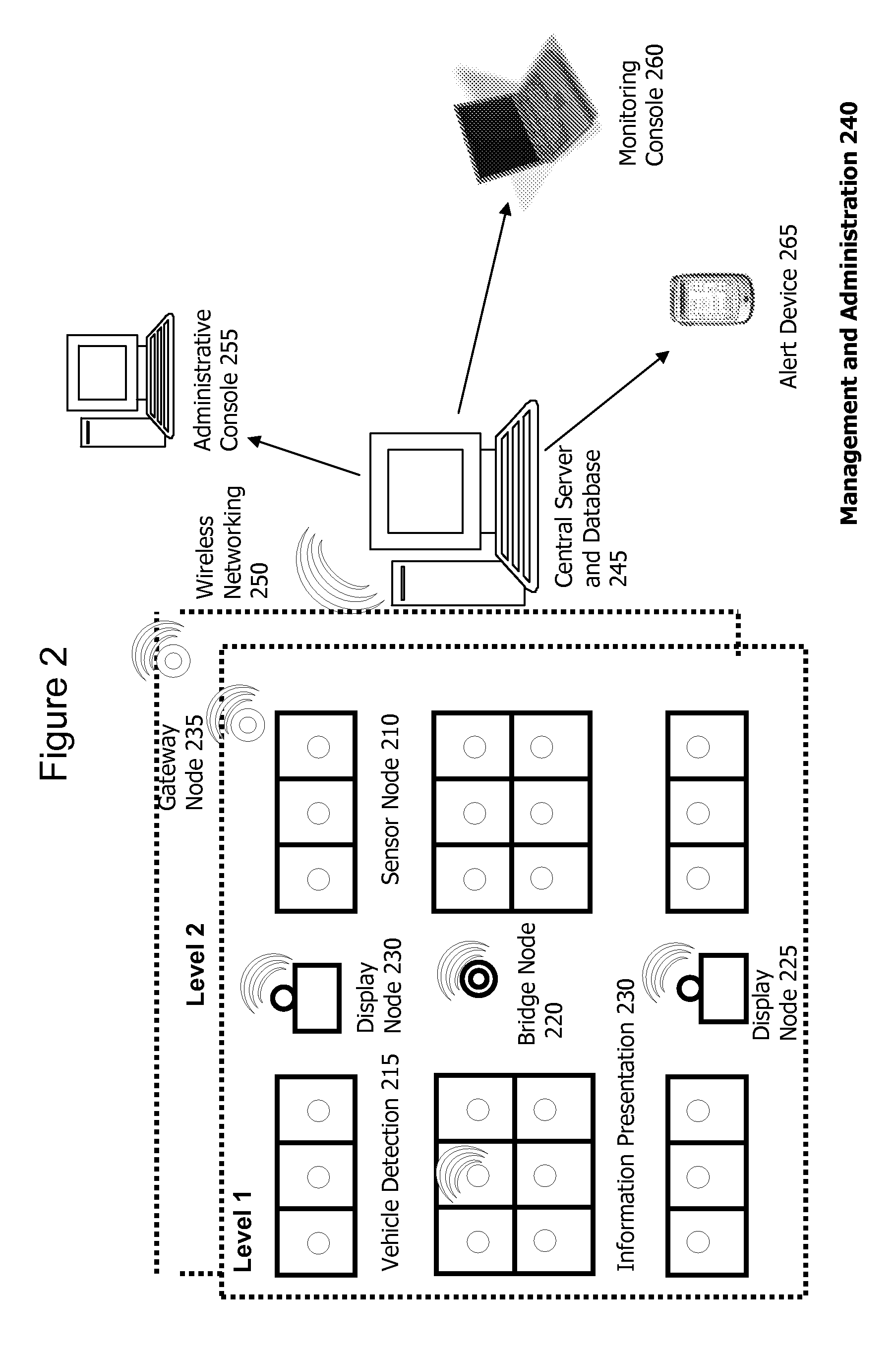 application of wireless sensor network to parking guidance system