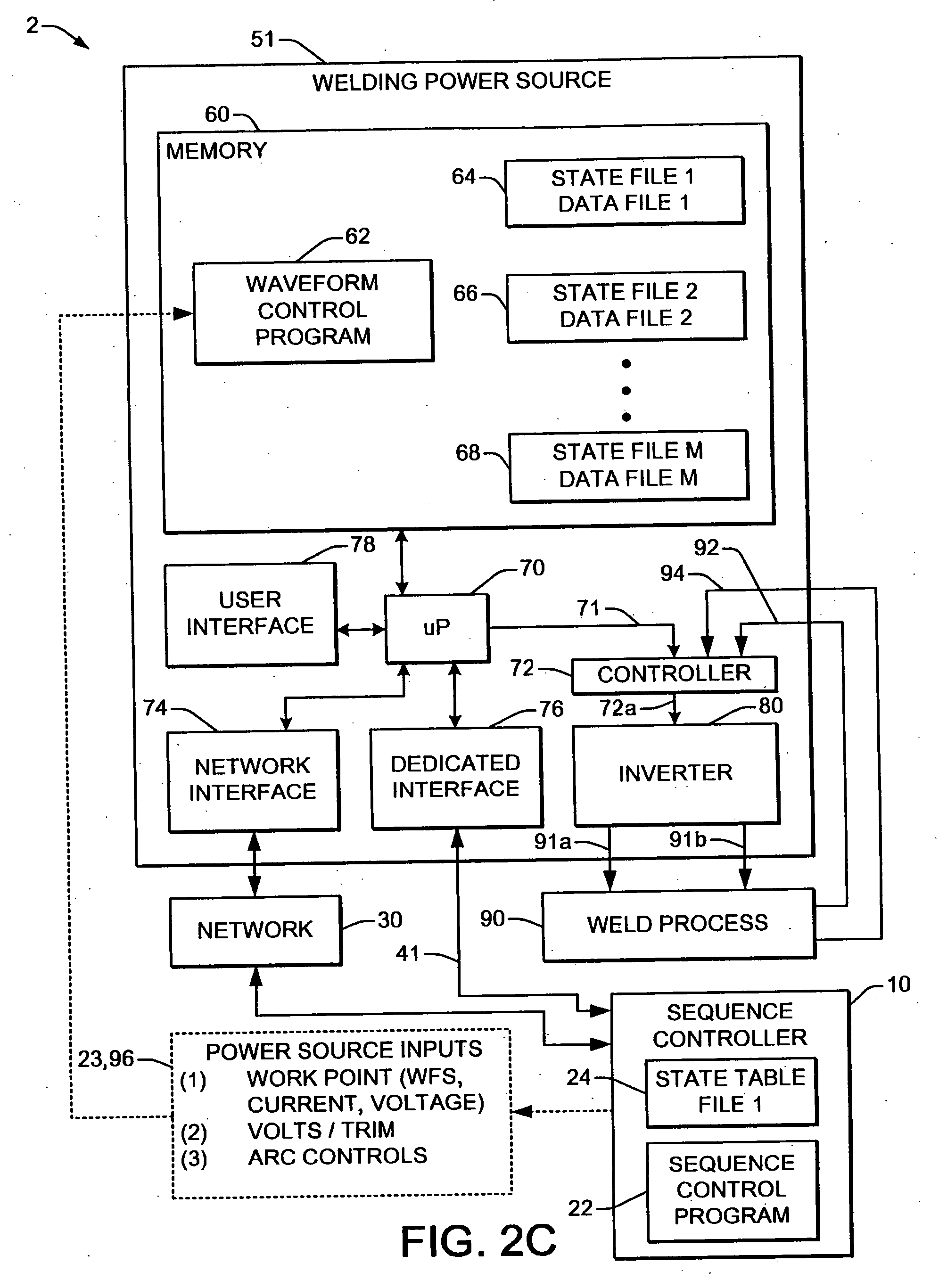 Patent Us20070056942 Welding System Sequence Control Apparatus Mig Equipment Diagram Drawing