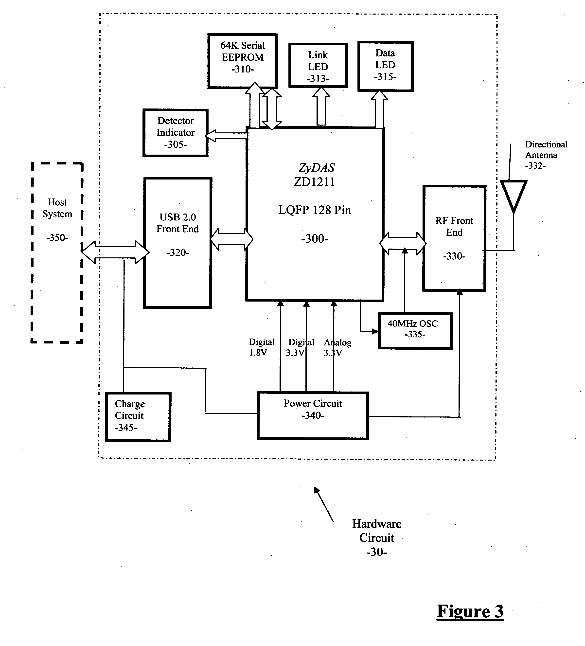 Patent US20070060089 WiFi network locator with directional – Diagram Of A Wireless Nic