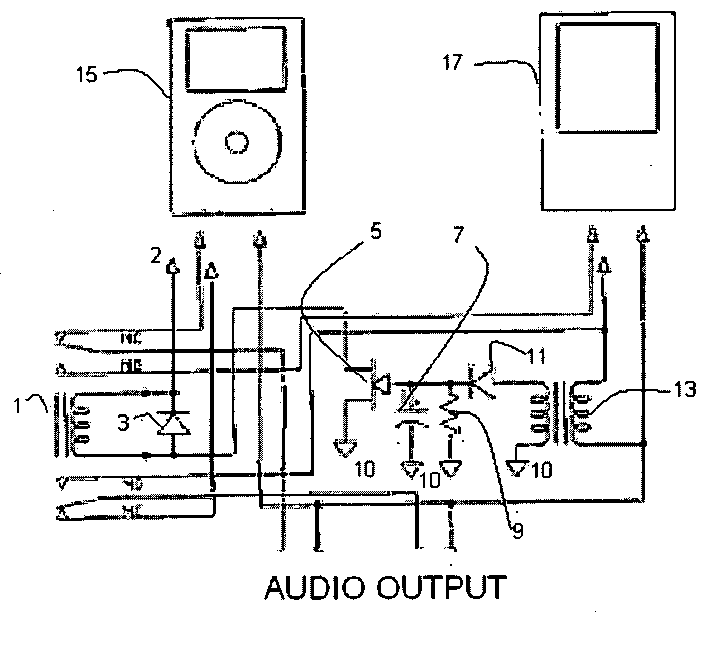 Patent Us20070071251 Audio Switch Google Patents Amplifier Projects To Control The Speaker Output Relay Drawing