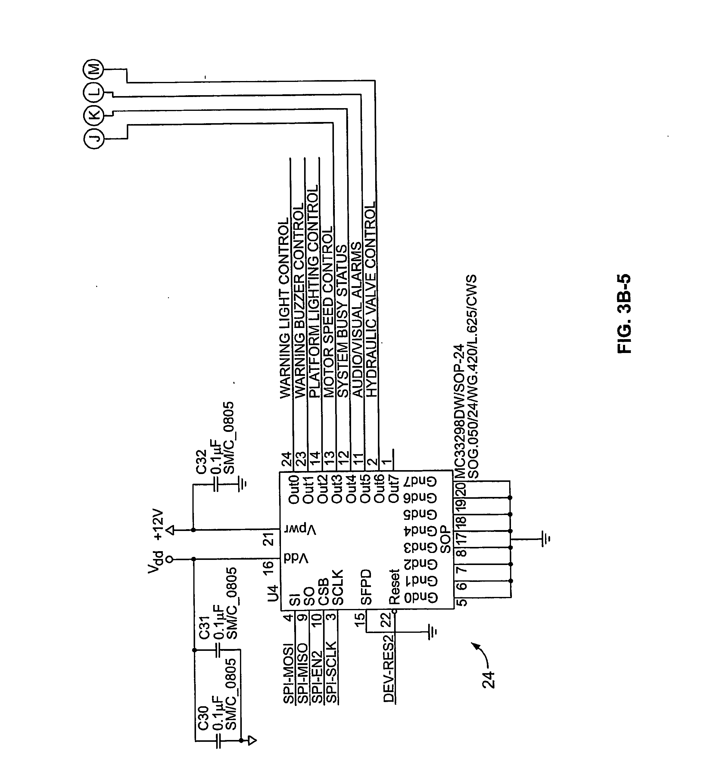 Patent US Electronic control system and method for an