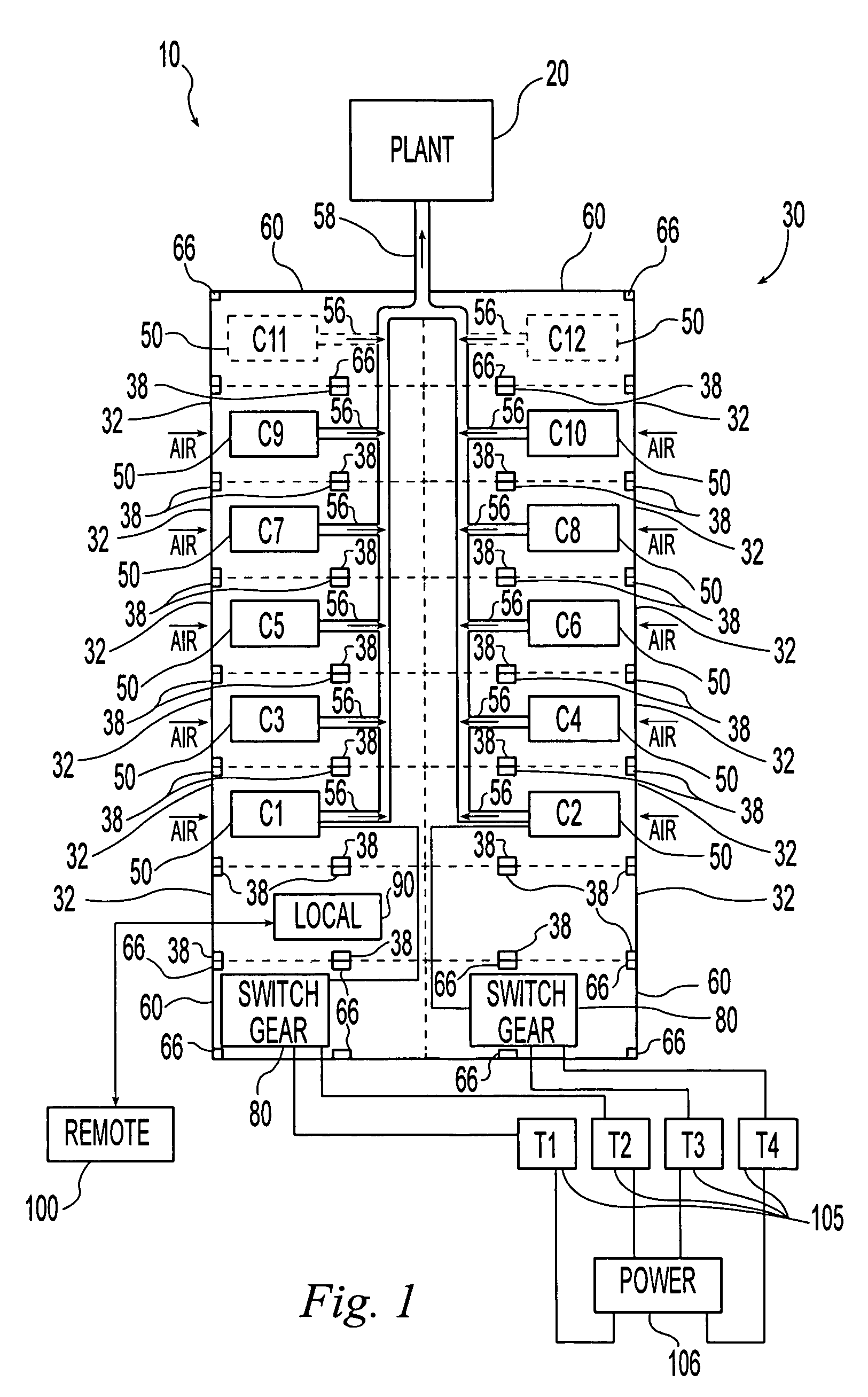 US20070094946A1 20070503 D00001 patent us20070094946 modular industrial equipment facility on atlas copco elektronikon wiring diagram
