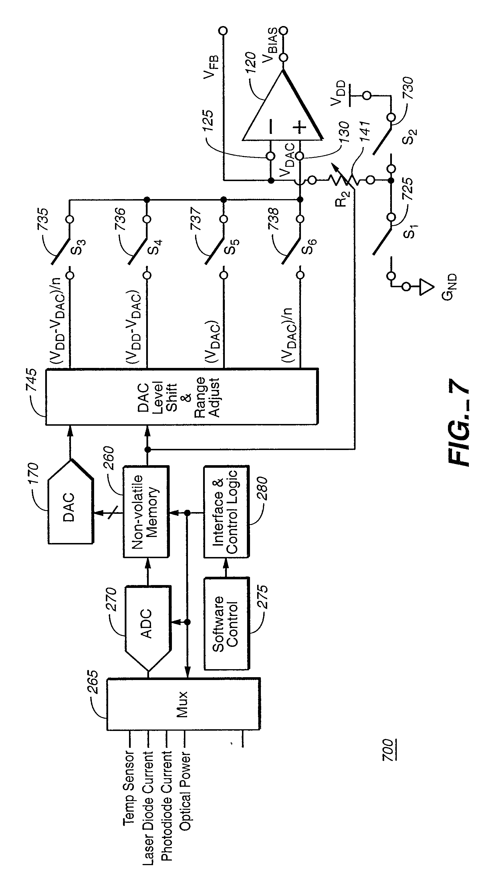 Patente Us20070114361 Automatic Control Of Laser Diode Current And Pulsed Driver Circuit Patent Drawing