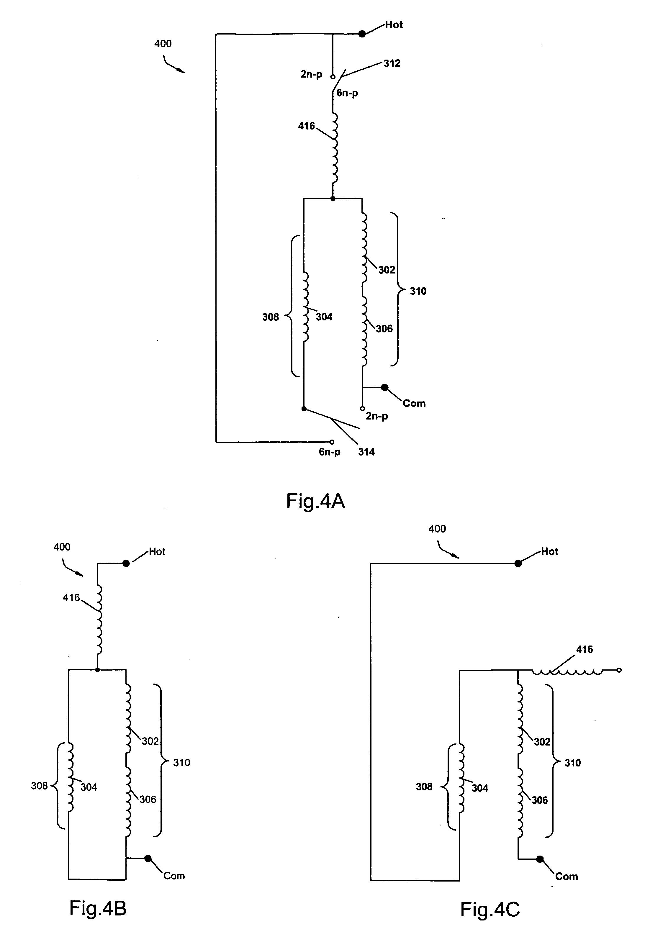 Patent Us20070126307 2 6 Pole Single Phase Induction