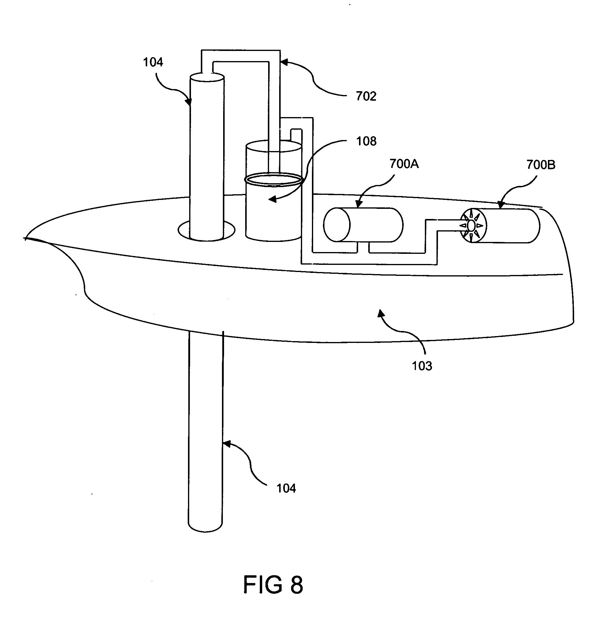 patent us20070130929 - wave power generator