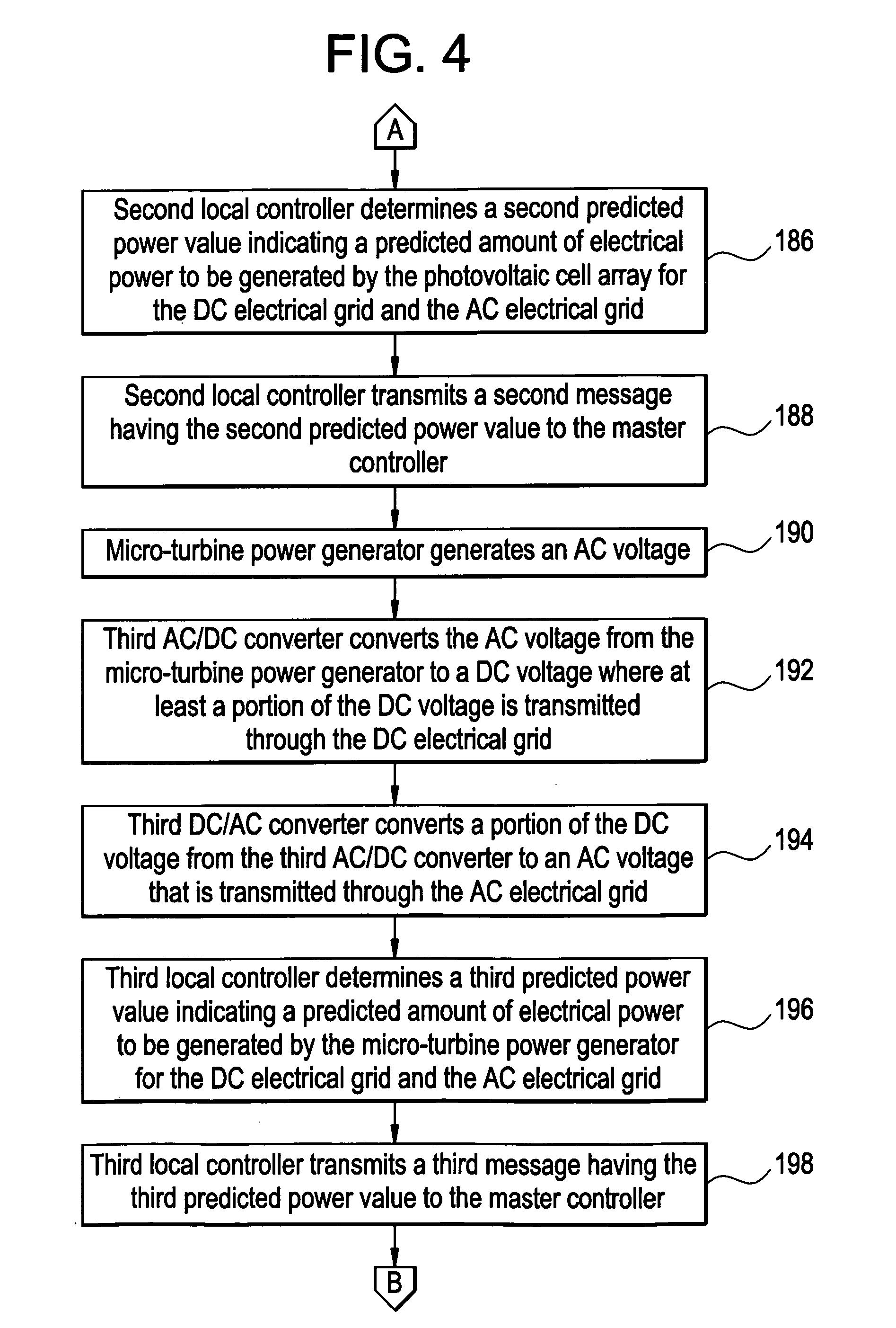 Patent US Electrical power generation system and