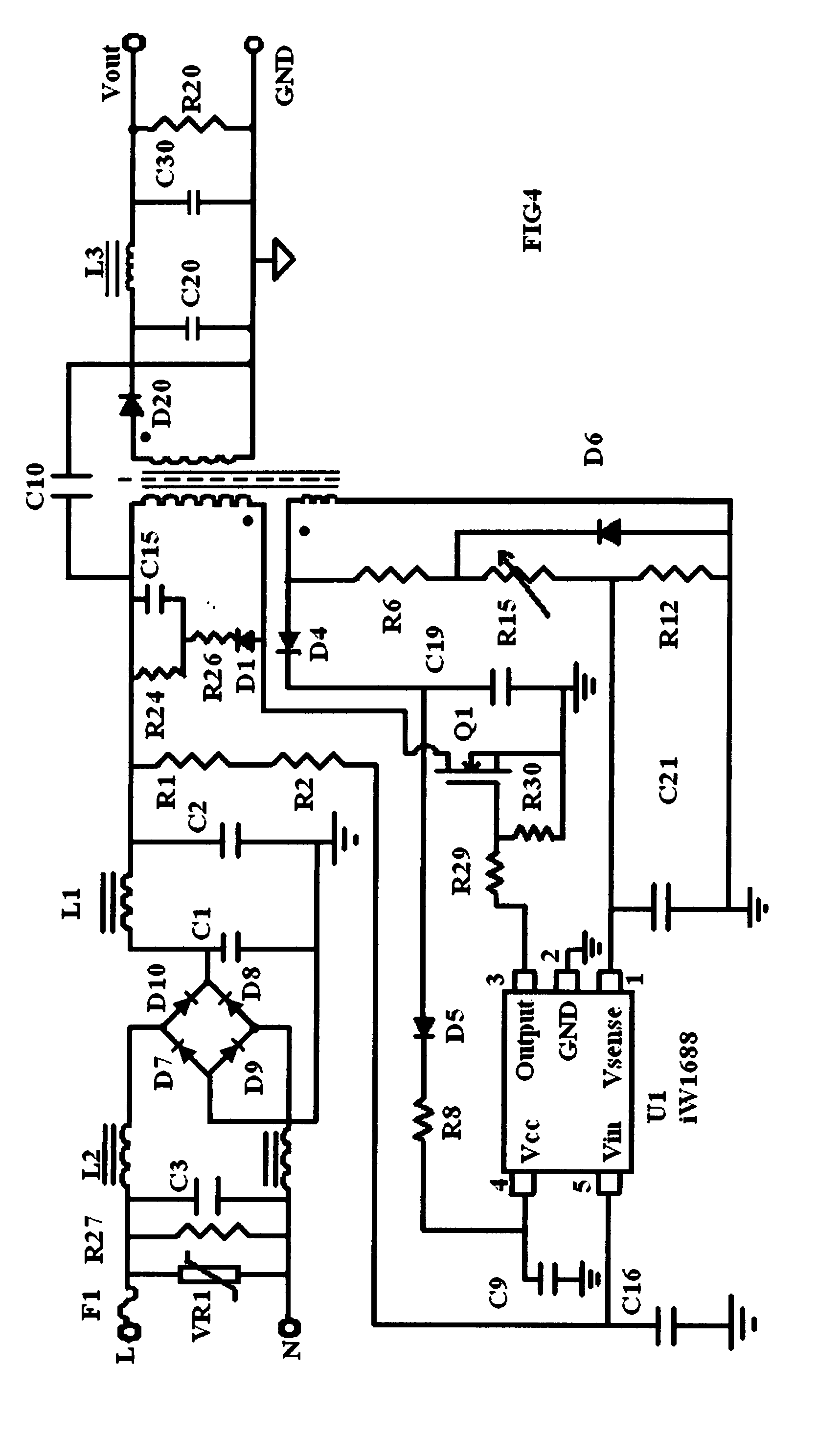patent us20070138971 - ac-to-dc voltage converter as power supply for lamp