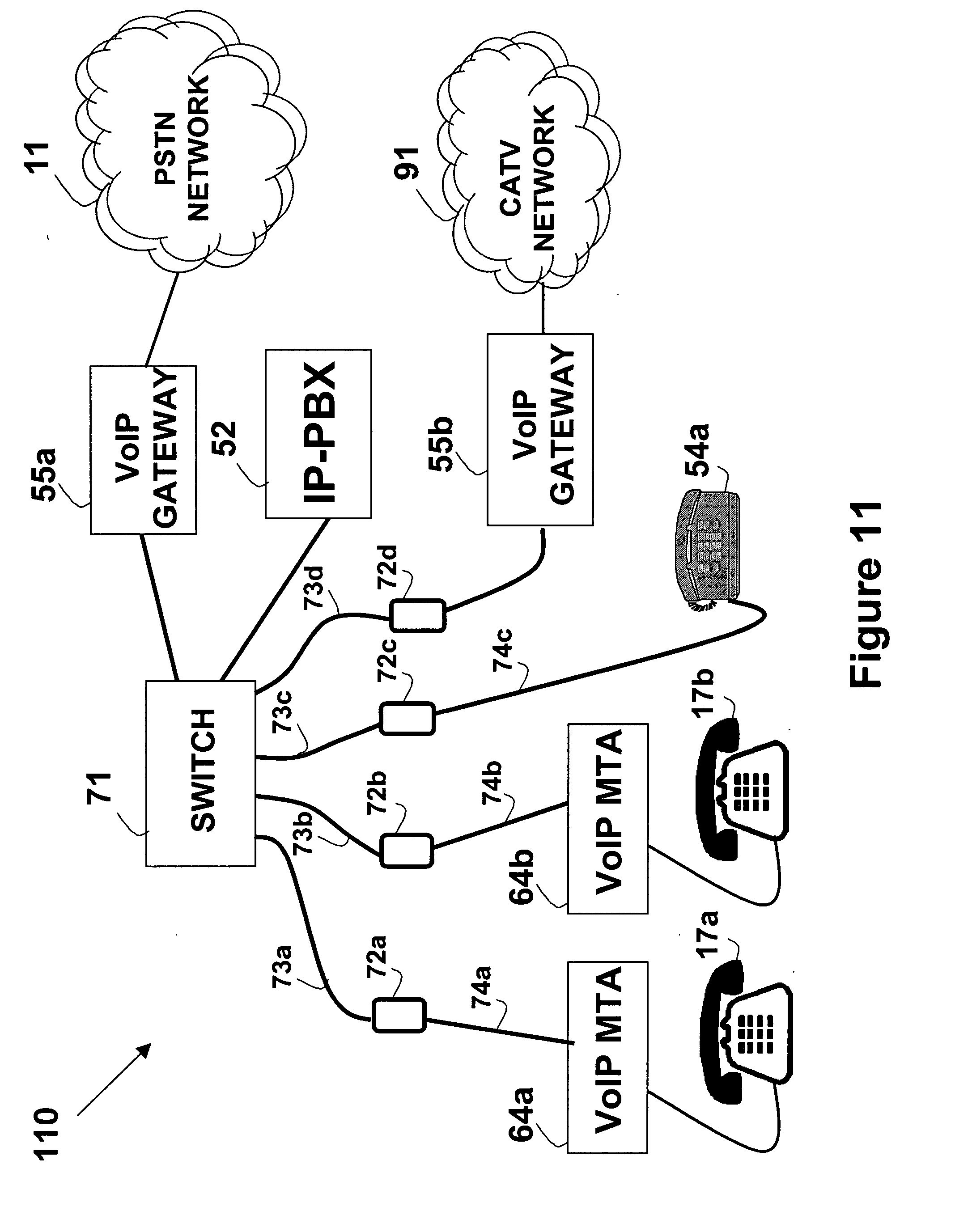 US20070147433 on voip adapter wiring