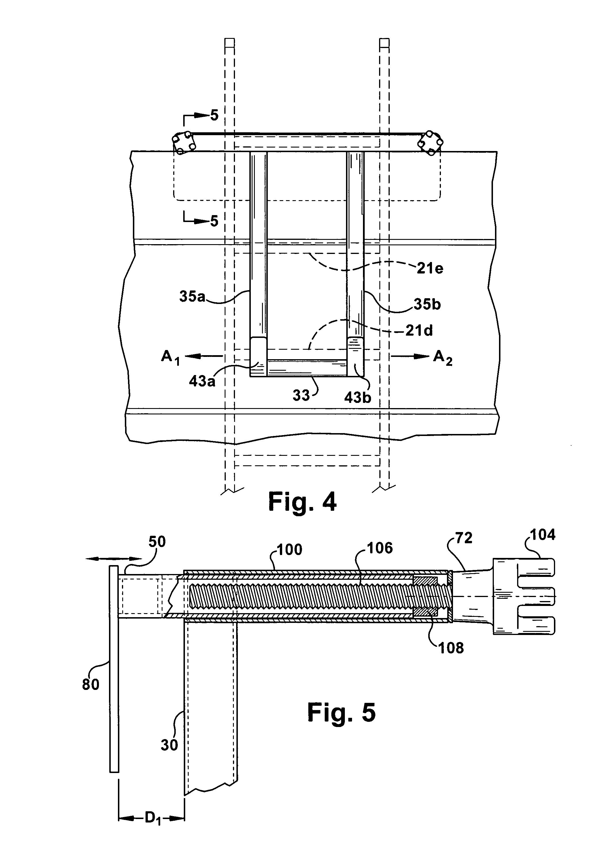 Trench Box Ladder Bracket Patent Us20070175699 Ladder