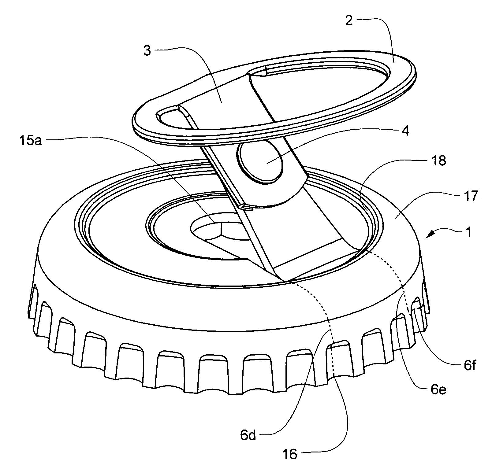patent us20070181526 easy pull bottle cap google patents. Black Bedroom Furniture Sets. Home Design Ideas