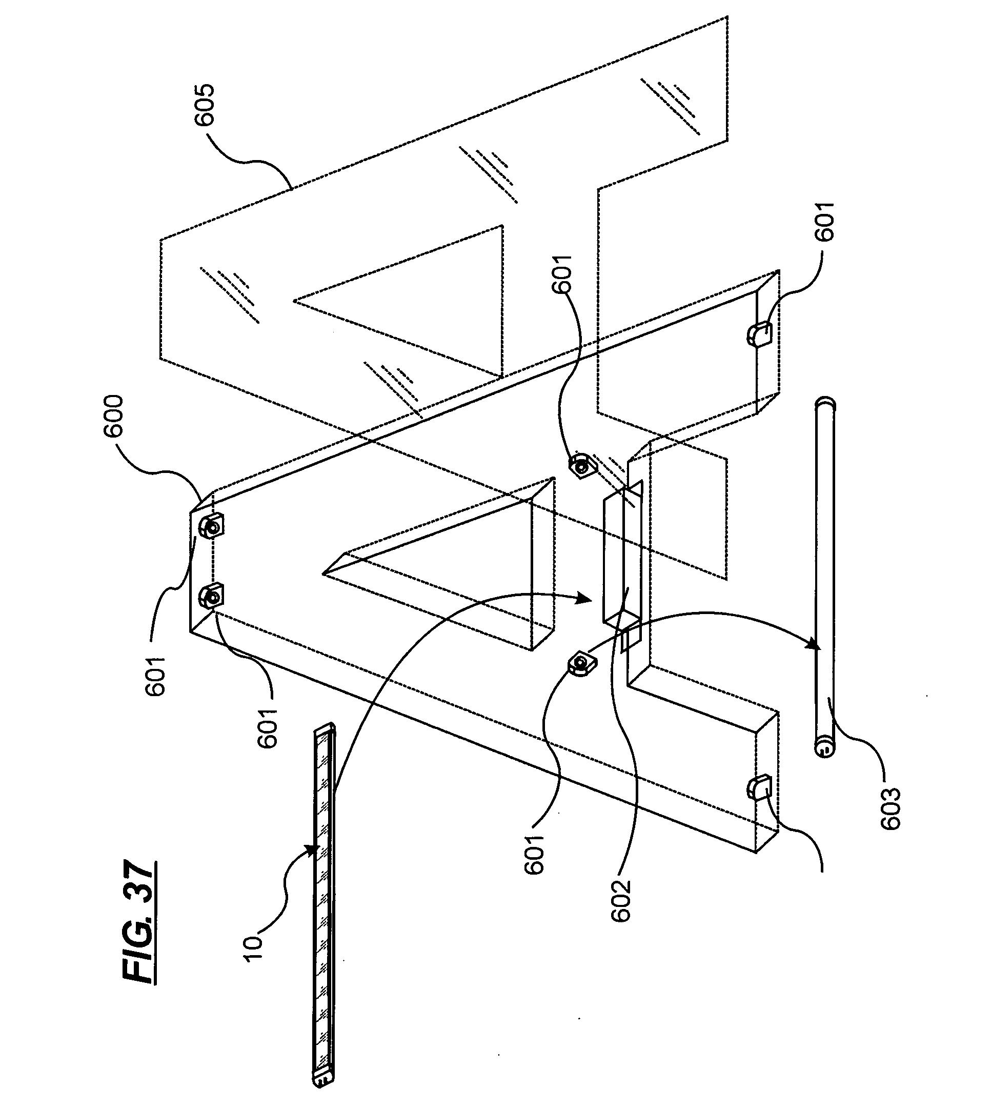 patent us20070183156 - led lighting system