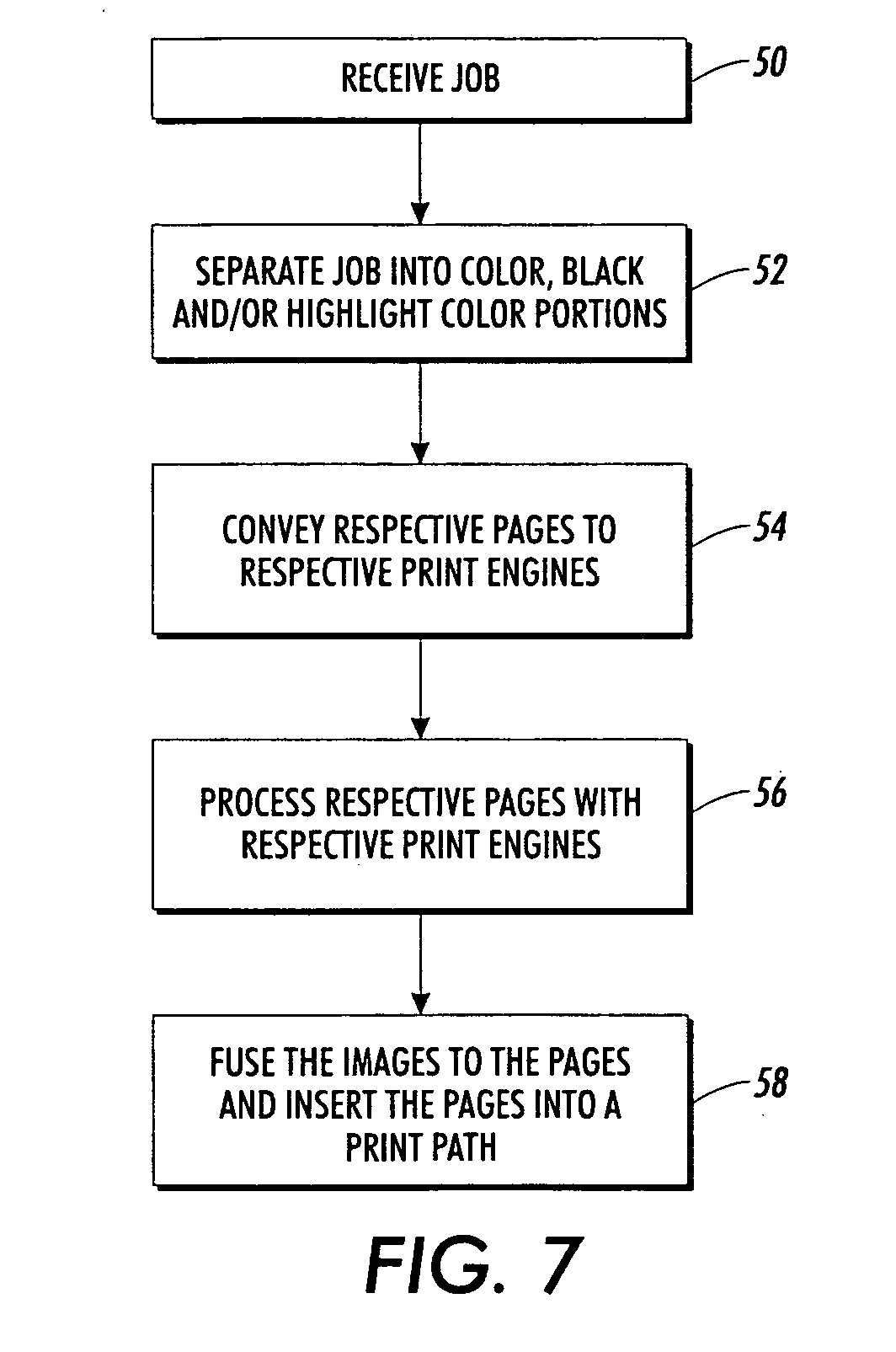 Pages color highlight - Patent Drawing