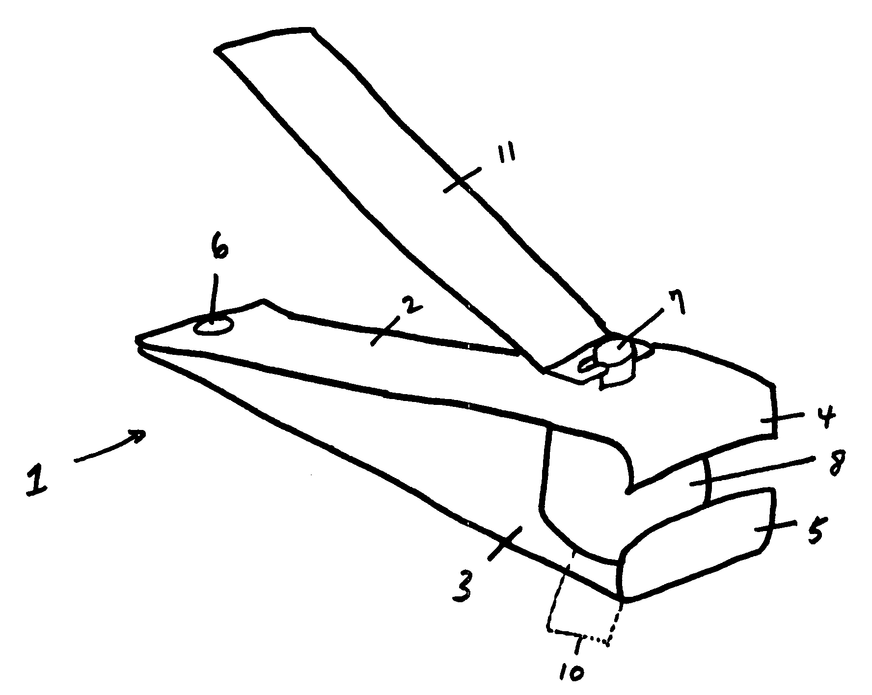 Patent US20070186419 - Nail clipper with nail collection ...
