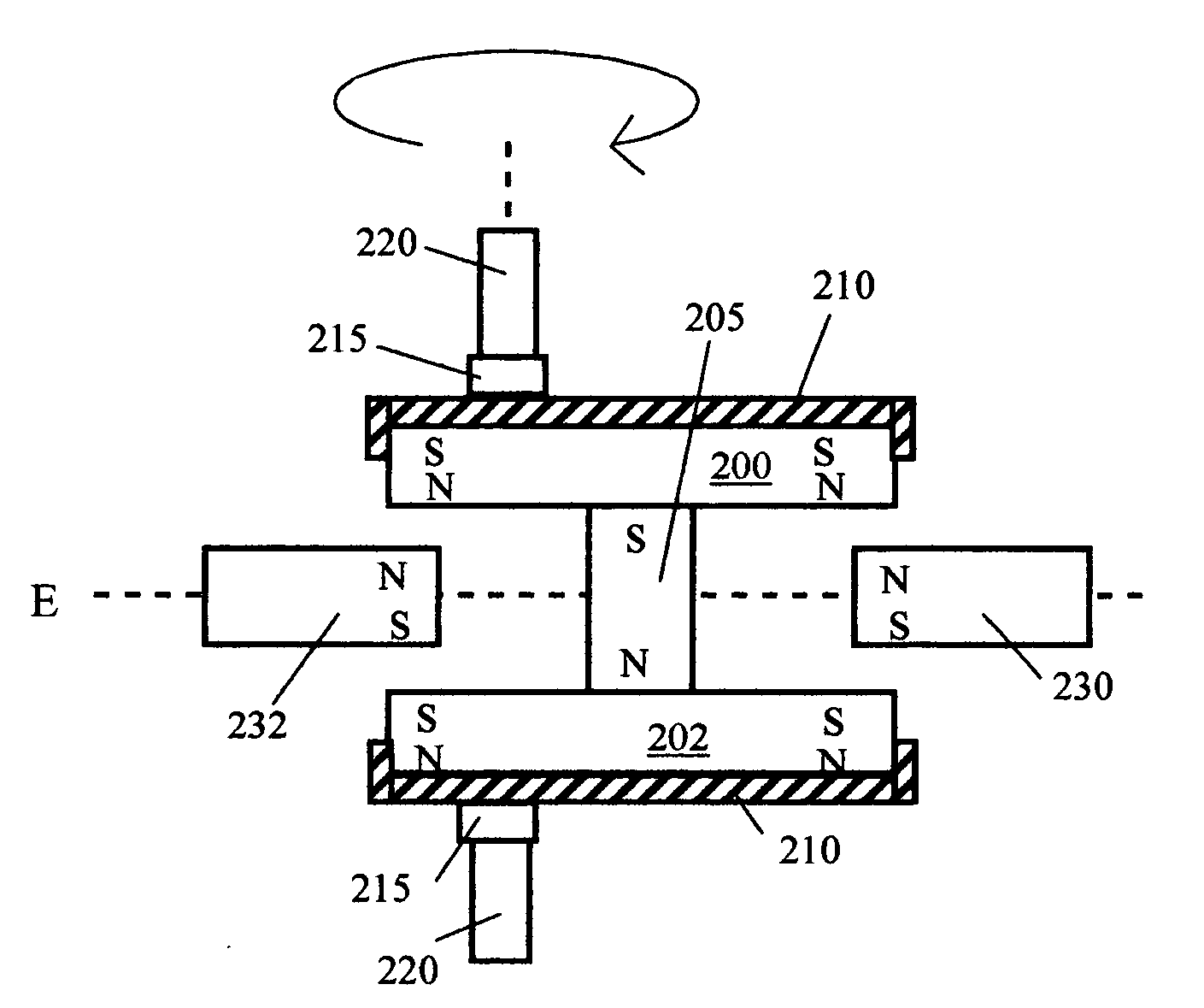patent us20070210659 radial magnetic cam google patents