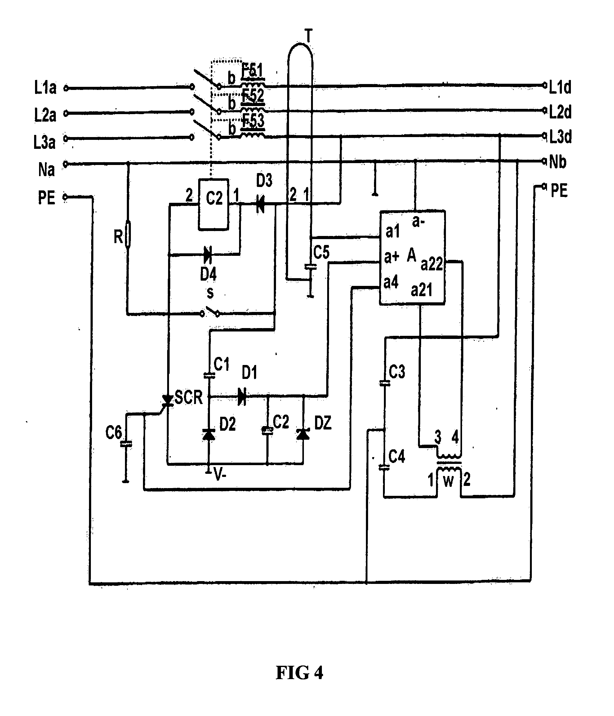 patent us20070215576 - electric shock prevention residual current, Circuit diagram
