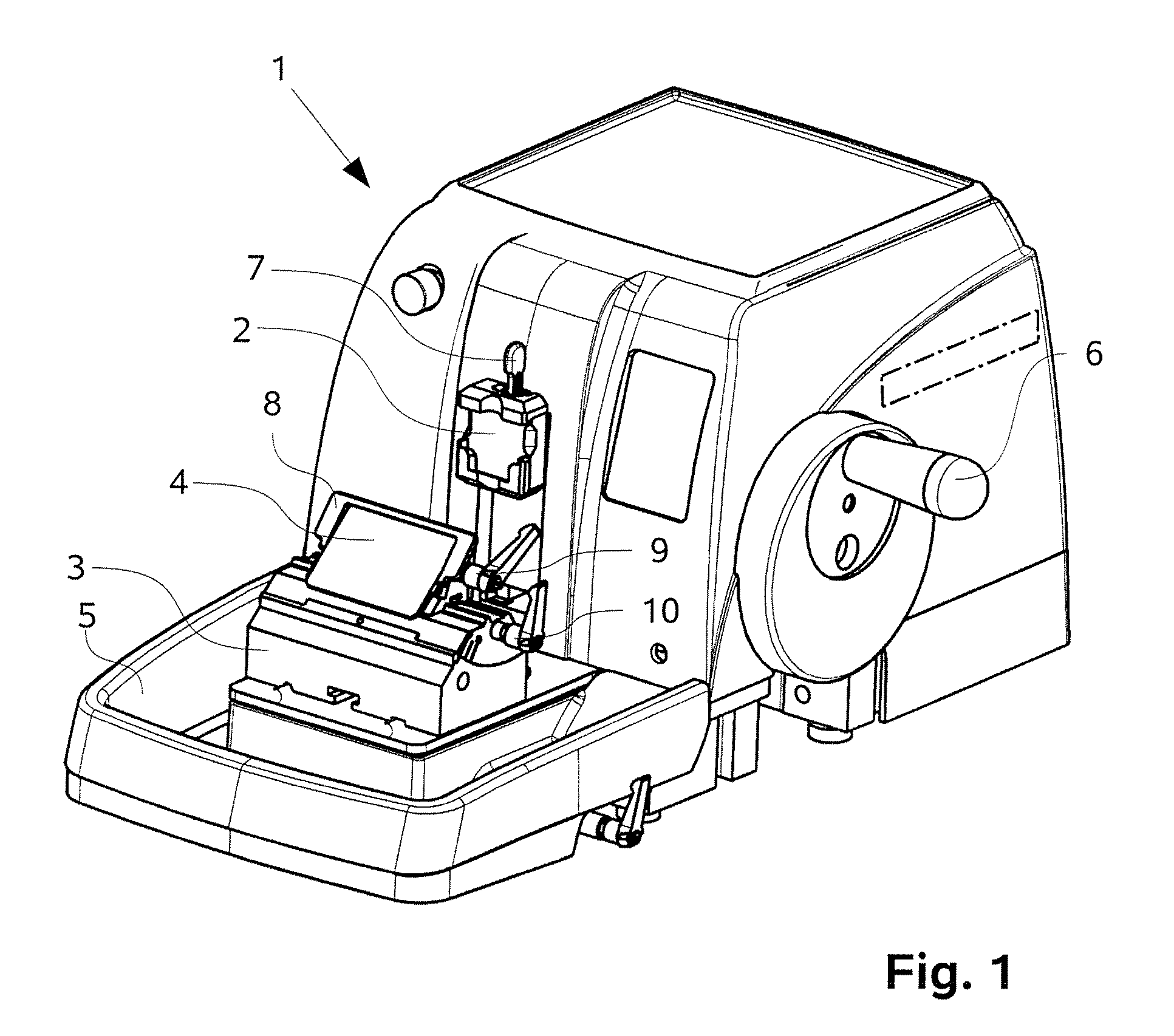 patent us20070227330 - microtome