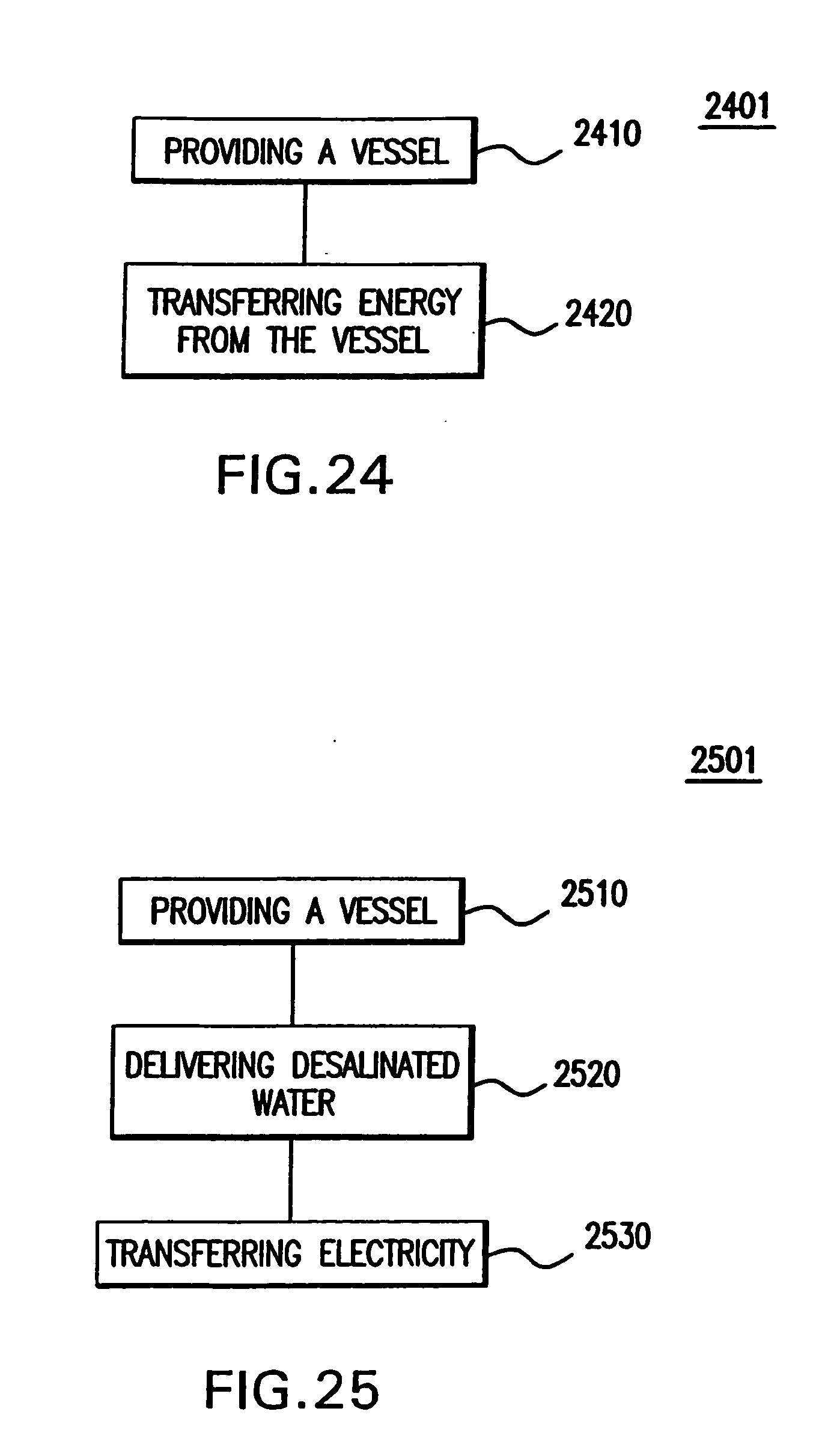 Patent US Intake for water desalination systems and