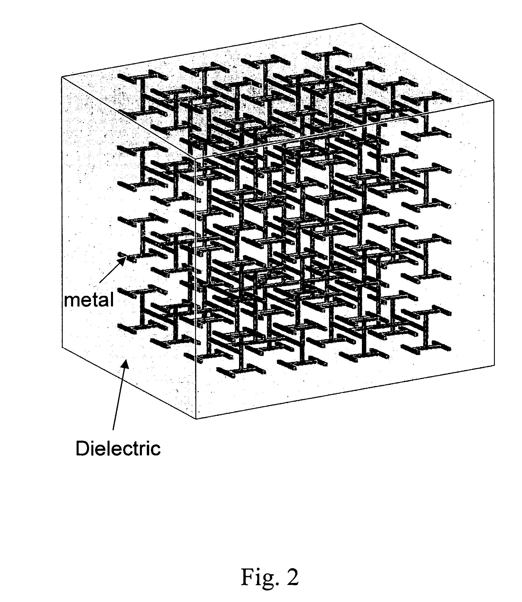 patent us20070236406 three dimensional h fractal bandgap