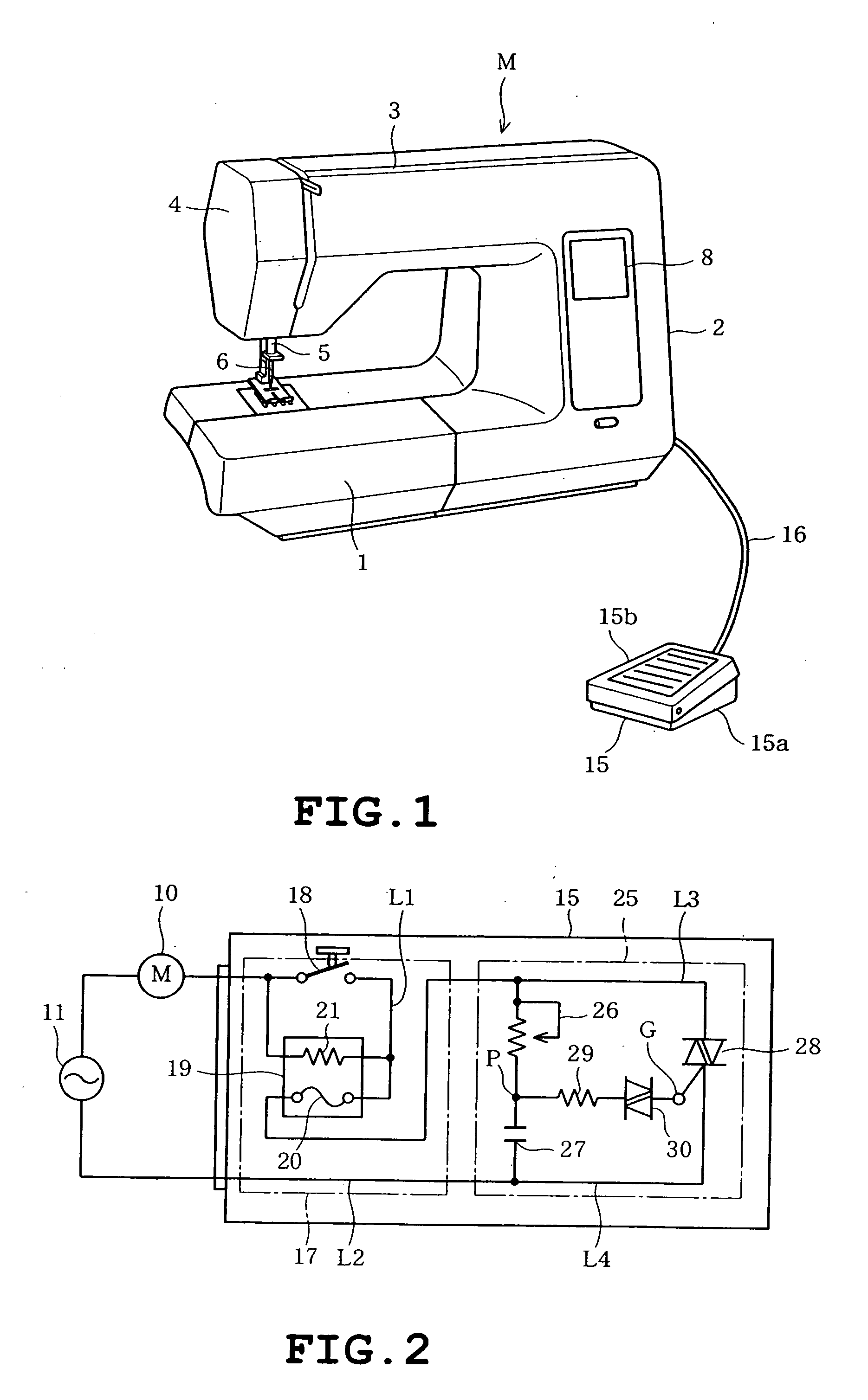 US20070256618A1 20071108 D00001 patent us20070256618 foot controller for sewing machine and singer sewing machine foot pedal wiring diagram at aneh.co