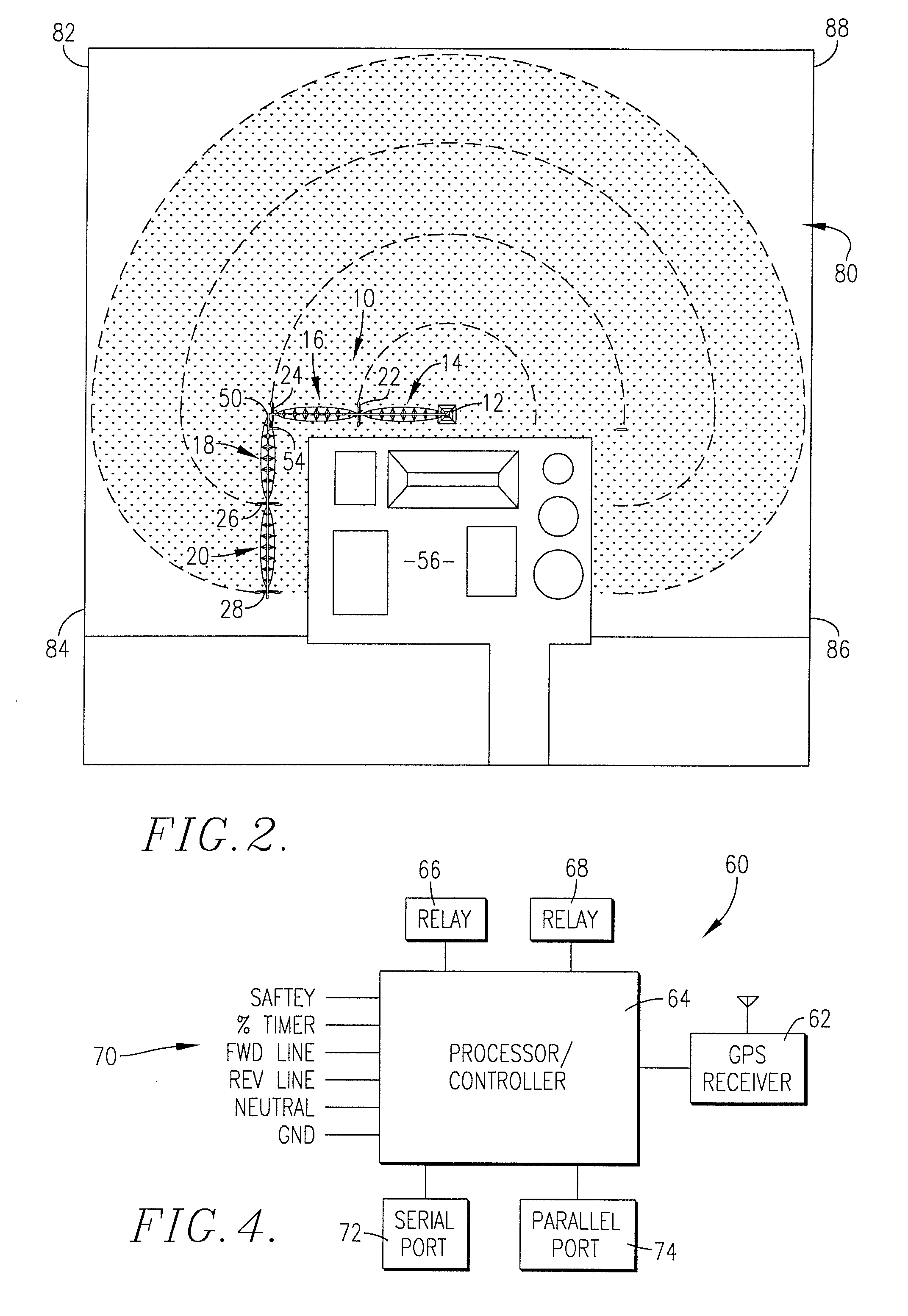patent us20070267524 gps control system and method for patent drawing