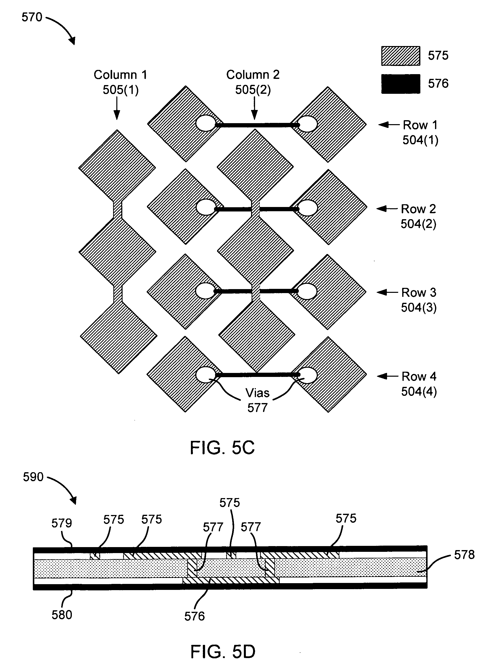 Patent Us20080007534 Touch Sensor With Shared Capacitive Sensors L Circuit Battery Indicator Drawing