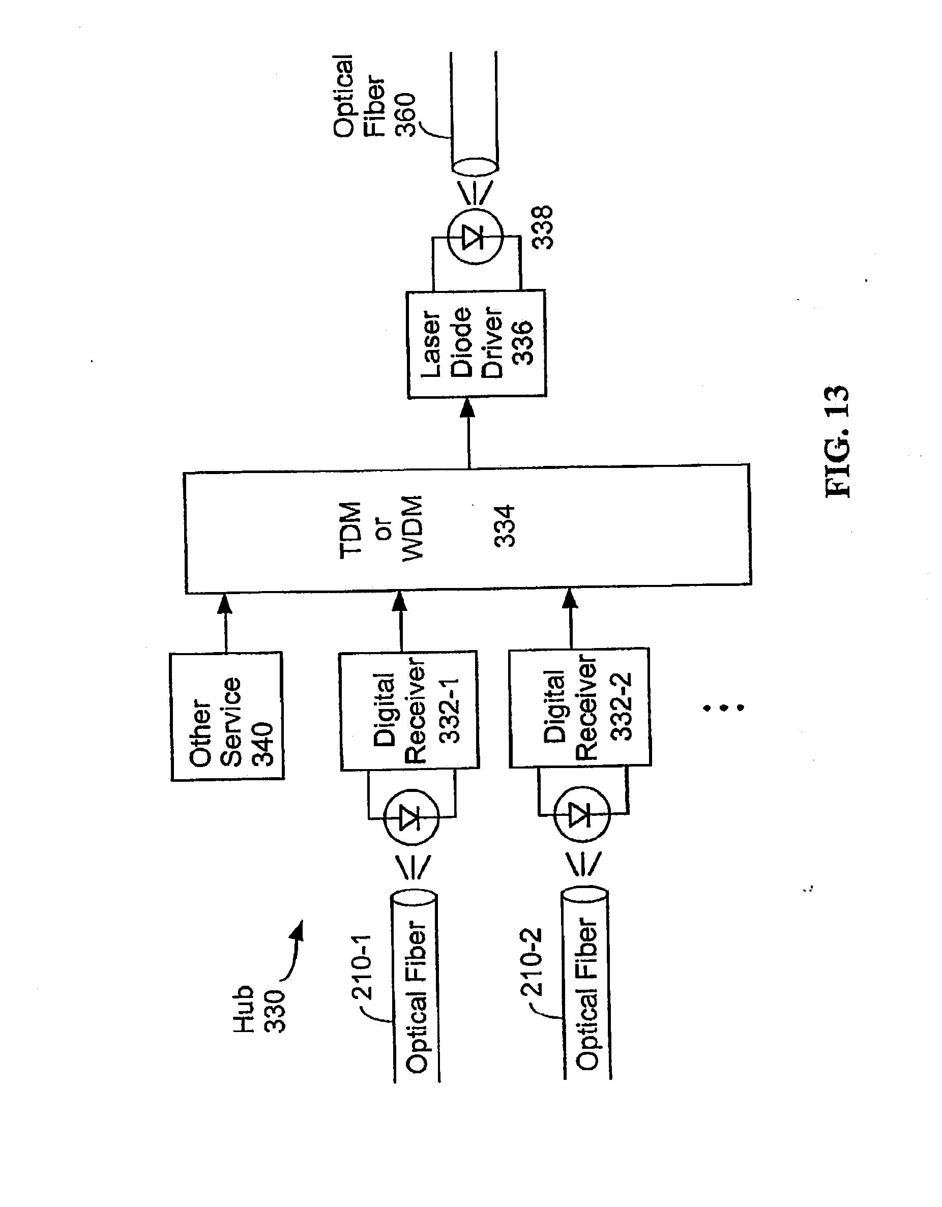 Patent Us20080019706 System And Method For Transmitting Data On Laser Diode Driver Circuit Diagram Drawing