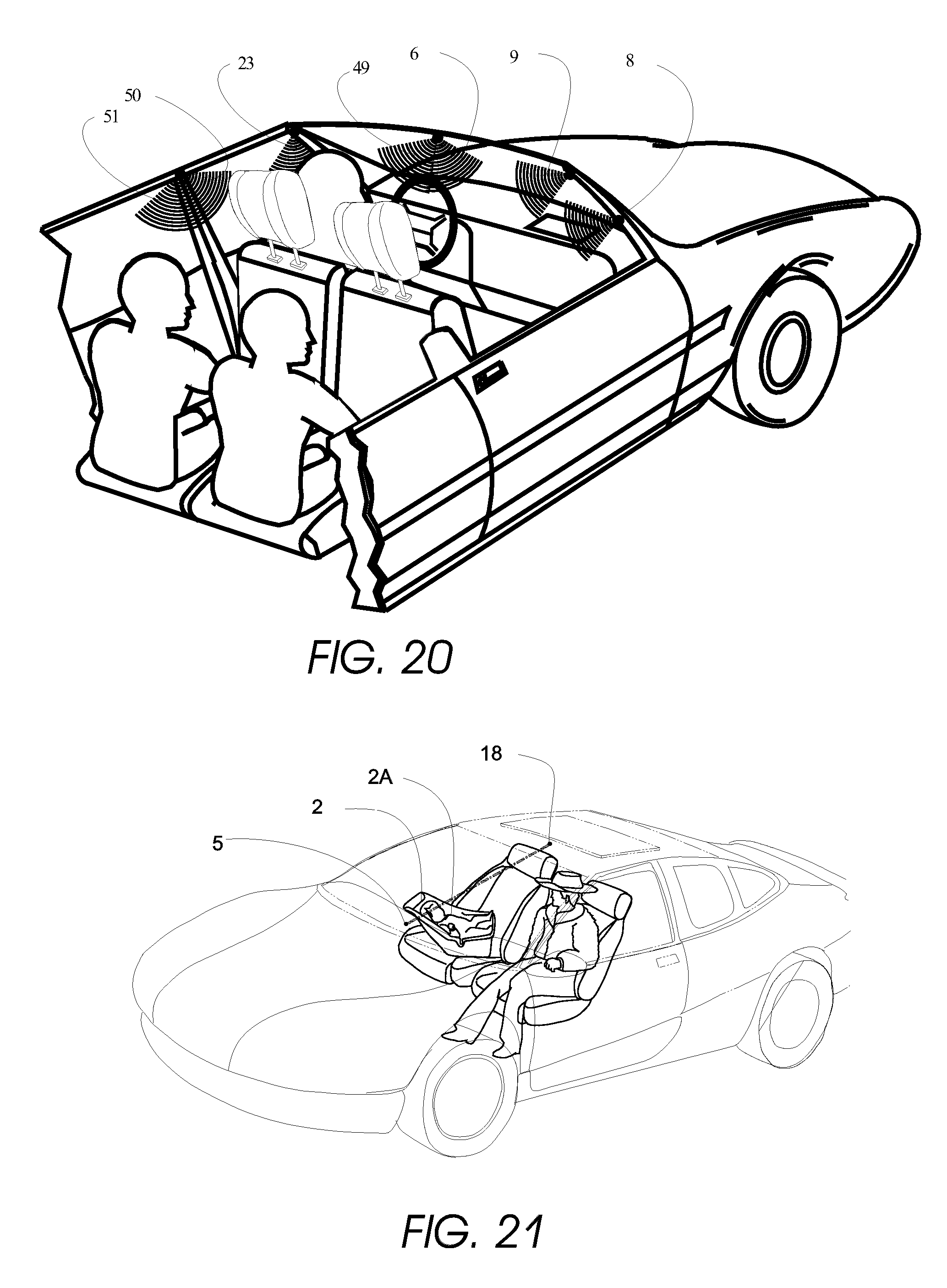 patent us20080036580 optical monitoring of vehicle interiors 08 Ford Fusion Cream patent drawing