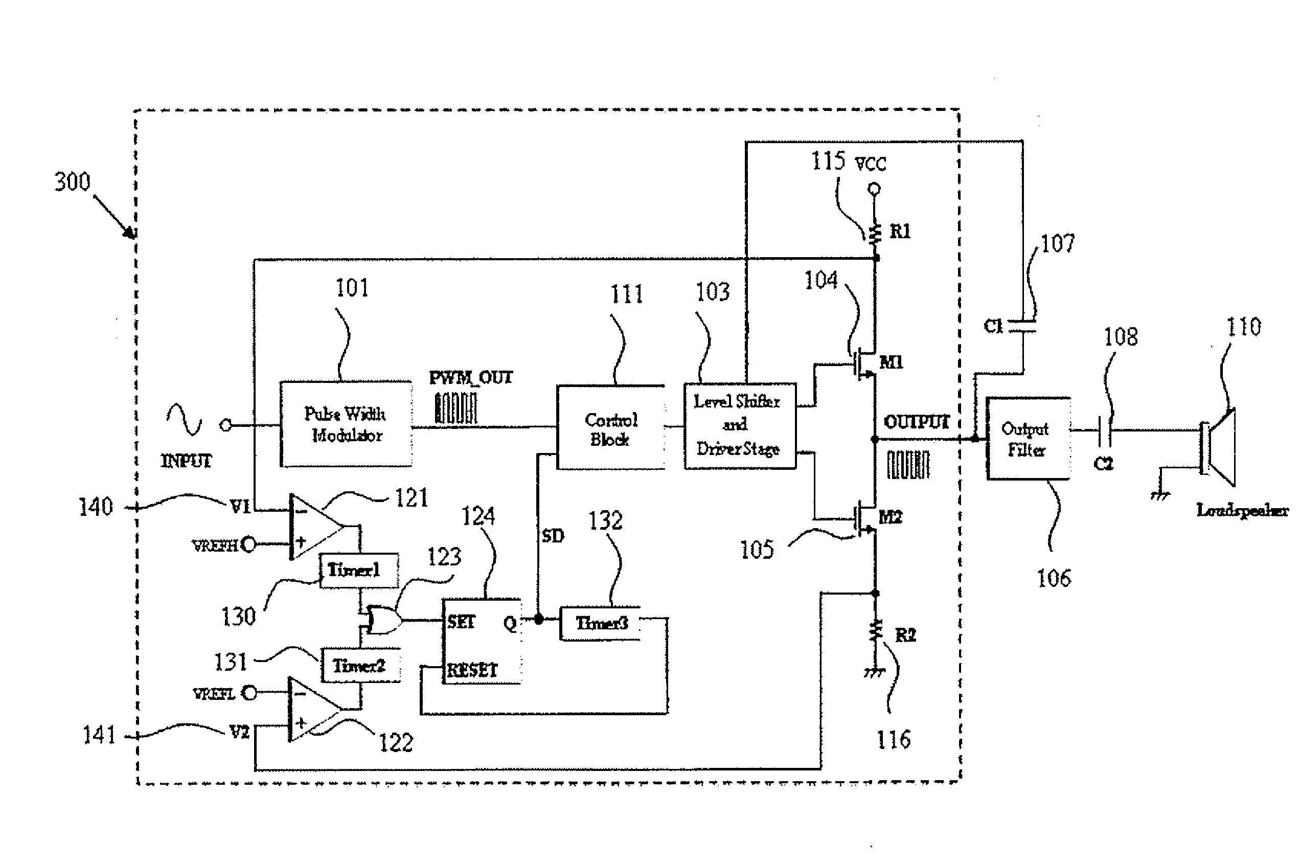Patent Us20080043391 Timer Reset Circuit For Overcurrent Digital Long Time Delay Amplifiercircuit Diagram Drawing