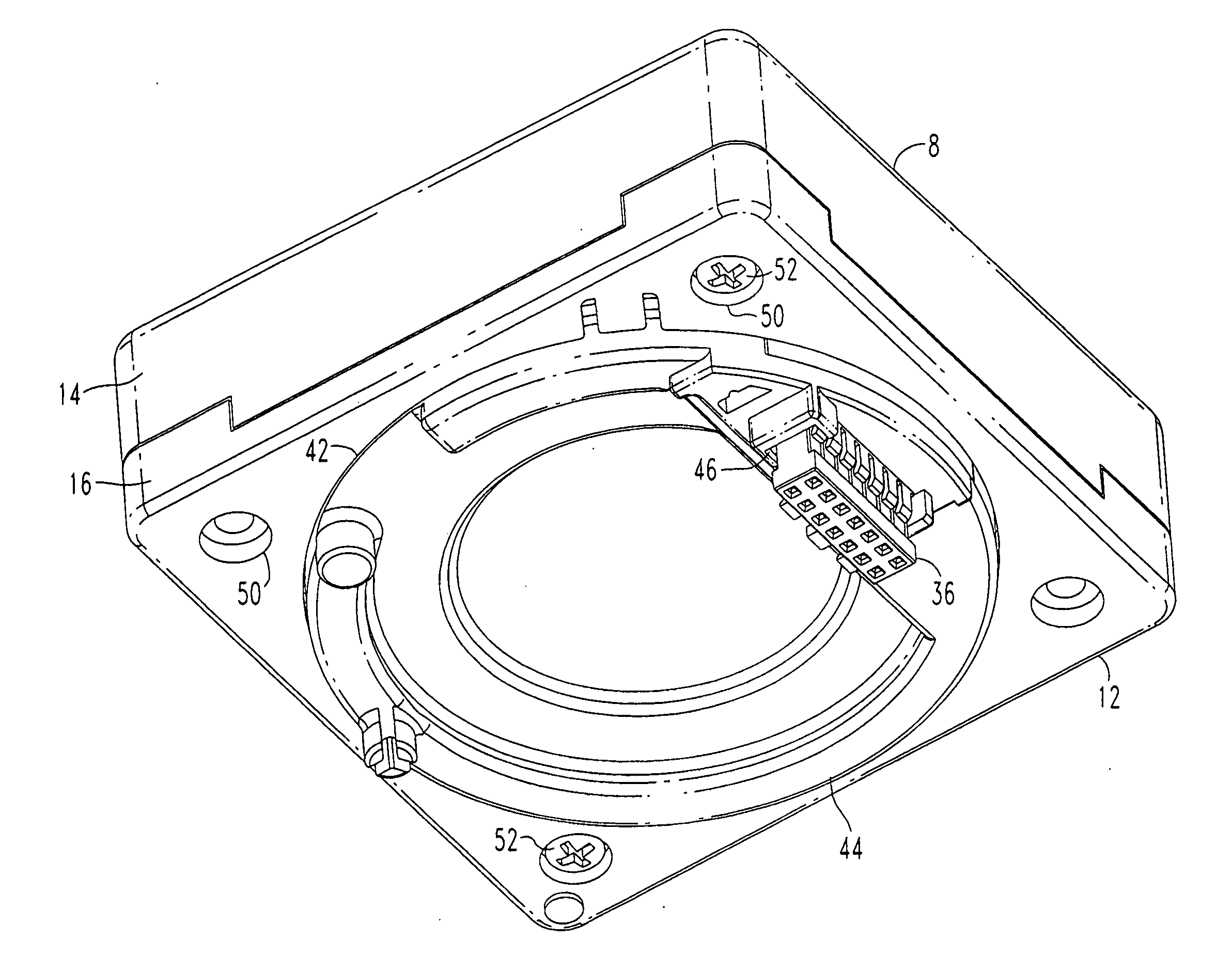 patent us20080047179 rotating display device having wiring patent drawing