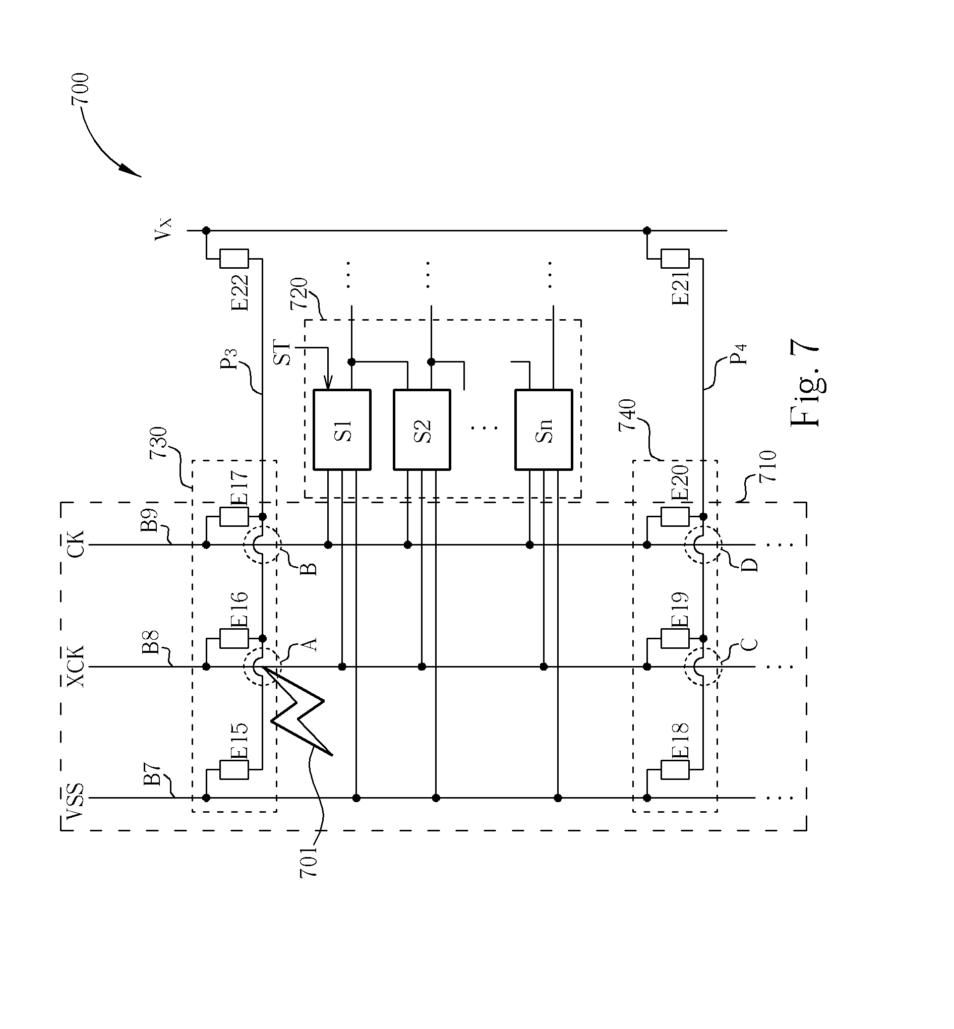 patent us20080055505 - esd protection control circuit and lcd