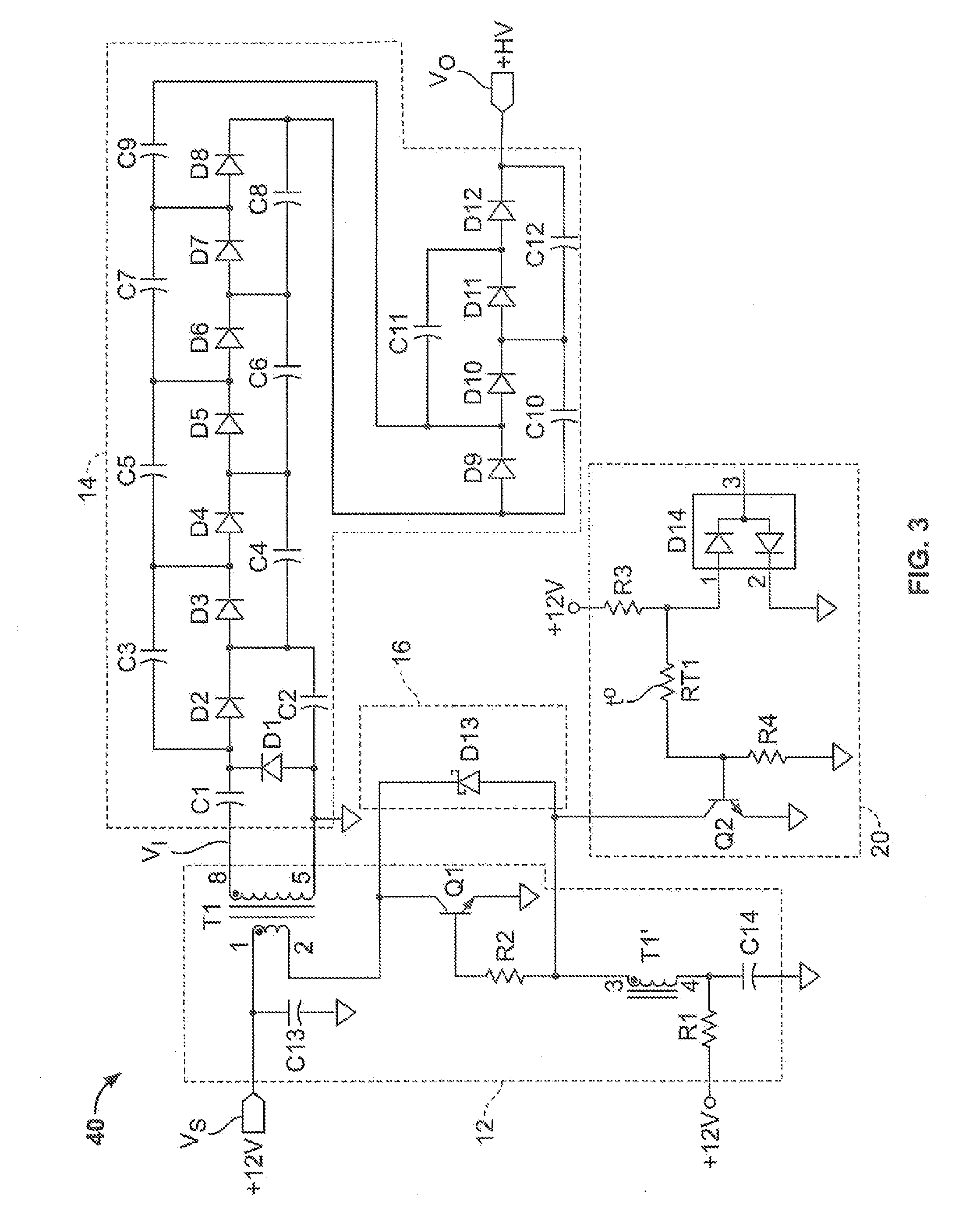 Patent Us20080062589 High Voltage Power Supplies Google Patents Ac To Dc Likewise Simple Capacitor Circuit On Resistance Schematic Drawing