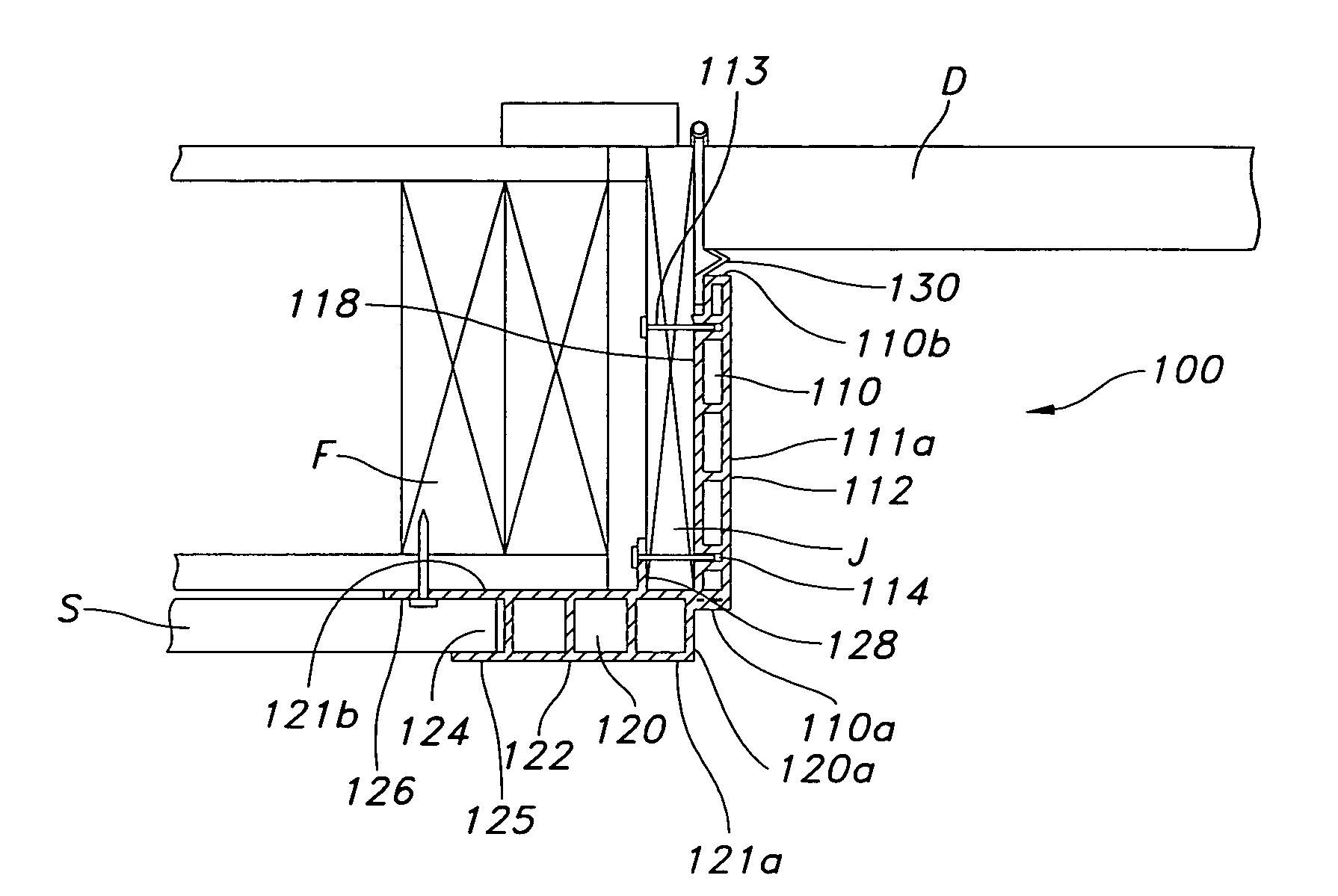 Patent Us20080072506 Vinyl Door Jamb And Casing Unit