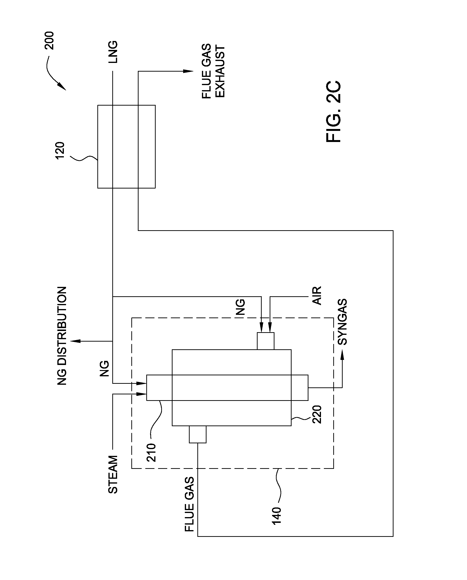 Patente Us20080078177 Steam Methane Reforming With Lng Process Flow Diagram Plant Patent Drawing