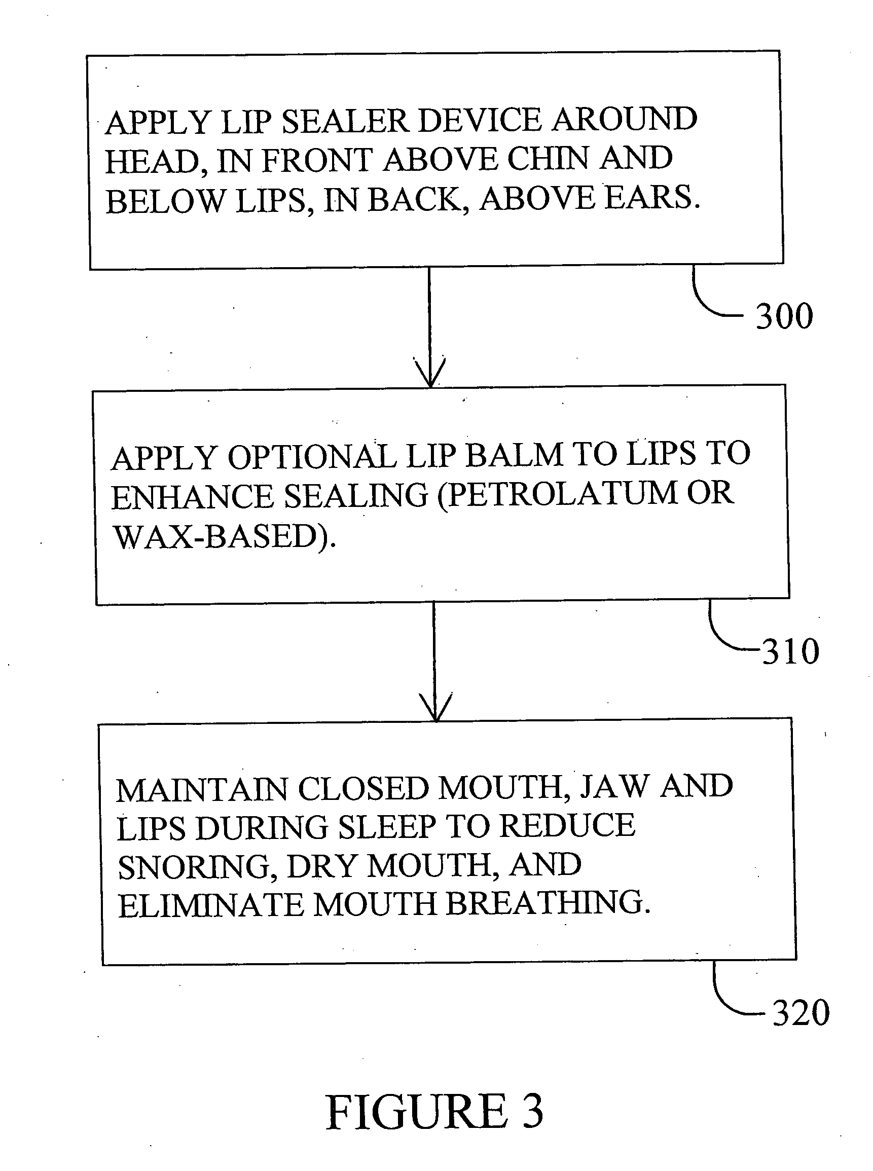 Patent us  lip sealer device and methodology